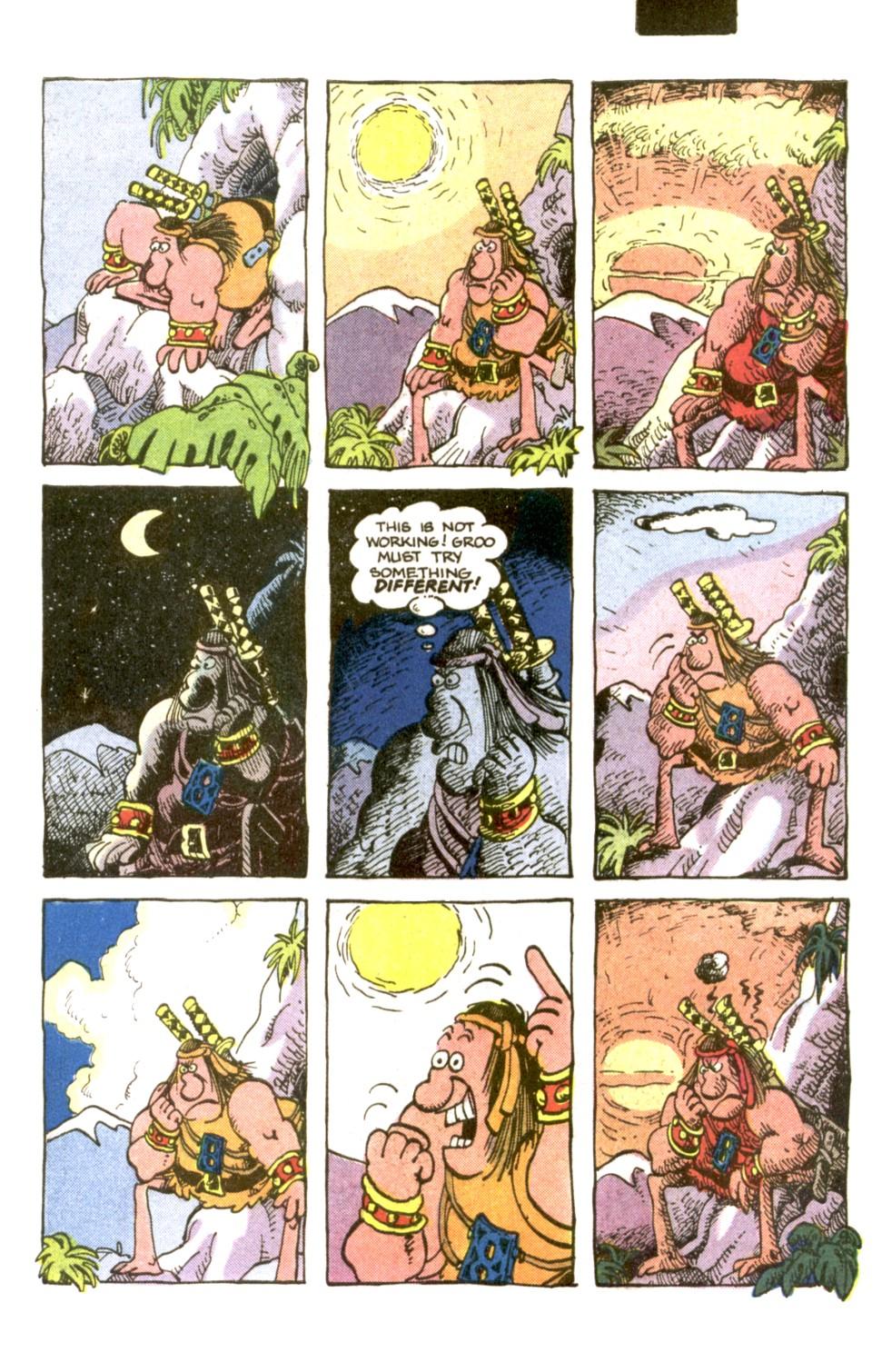 Read online Sergio Aragonés Groo the Wanderer comic -  Issue #2 - 19