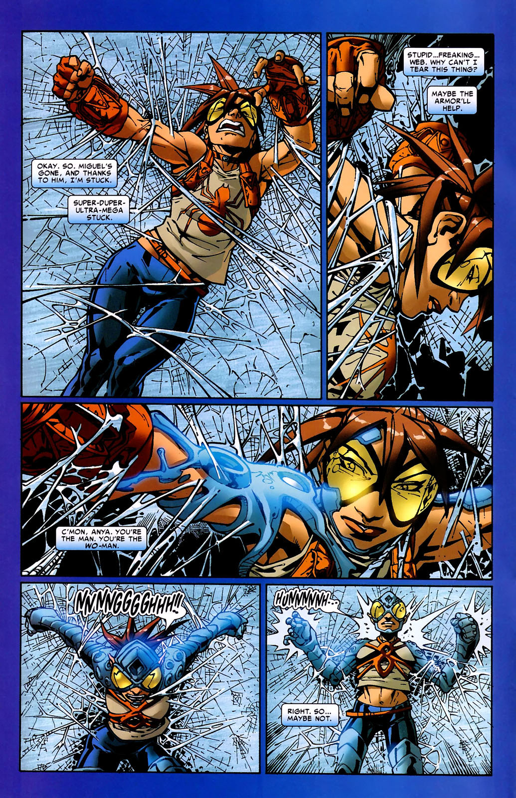 Read online Araña: Heart of the Spider comic -  Issue #9 - 3