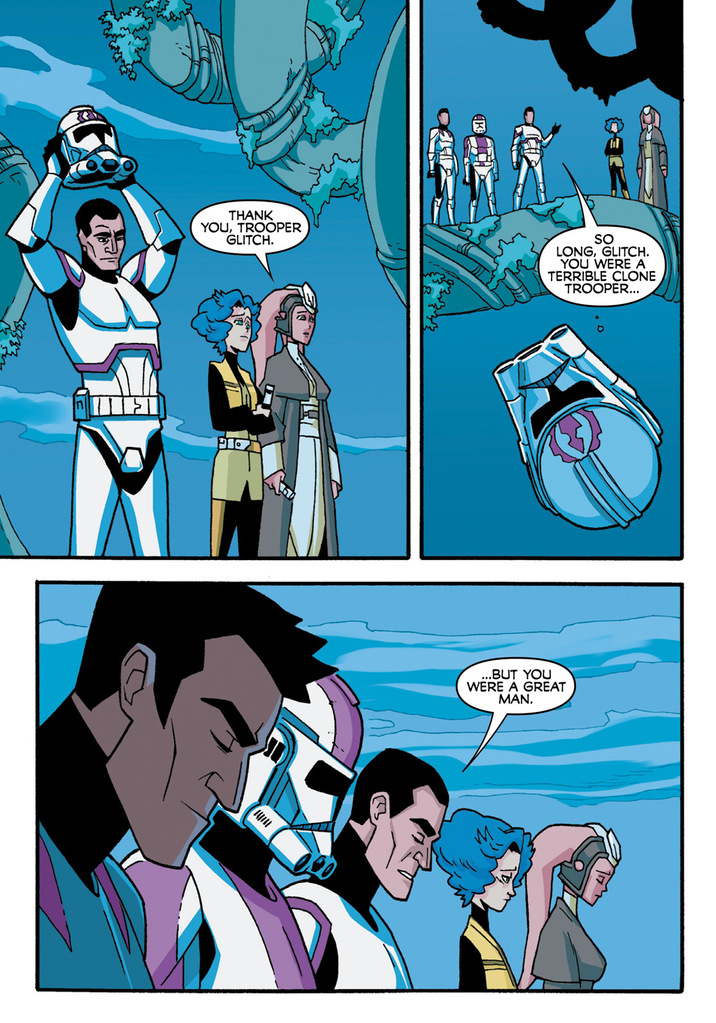 Read online Star Wars: The Clone Wars - Defenders of the Lost Temple comic -  Issue # Full - 70