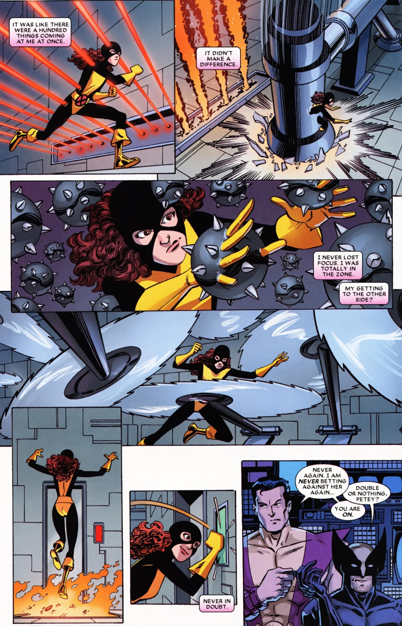 Read online Wolverine: First Class comic -  Issue #21 - 6