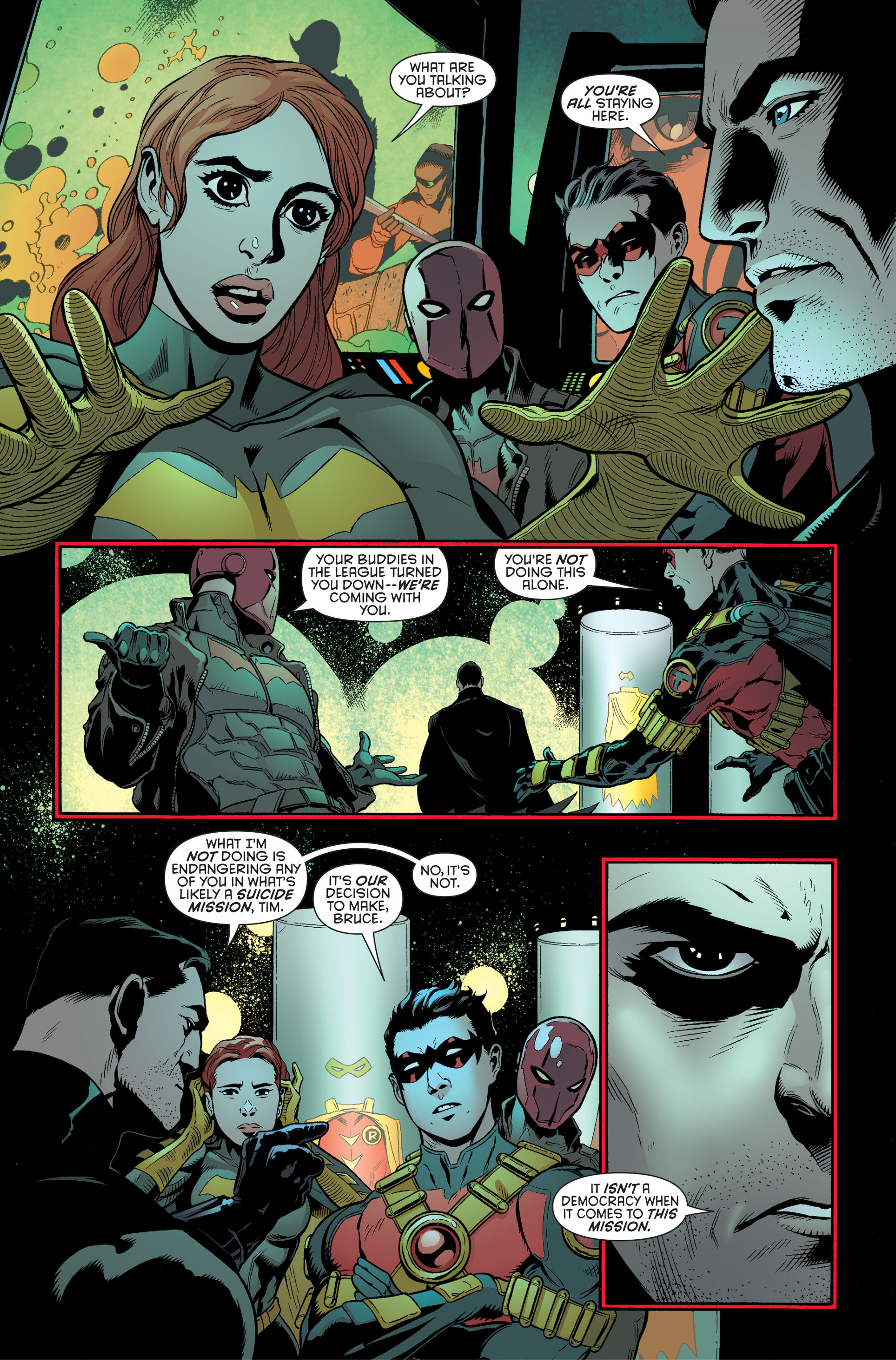 Read online Batman and Robin (2011) comic -  Issue #34 - 10