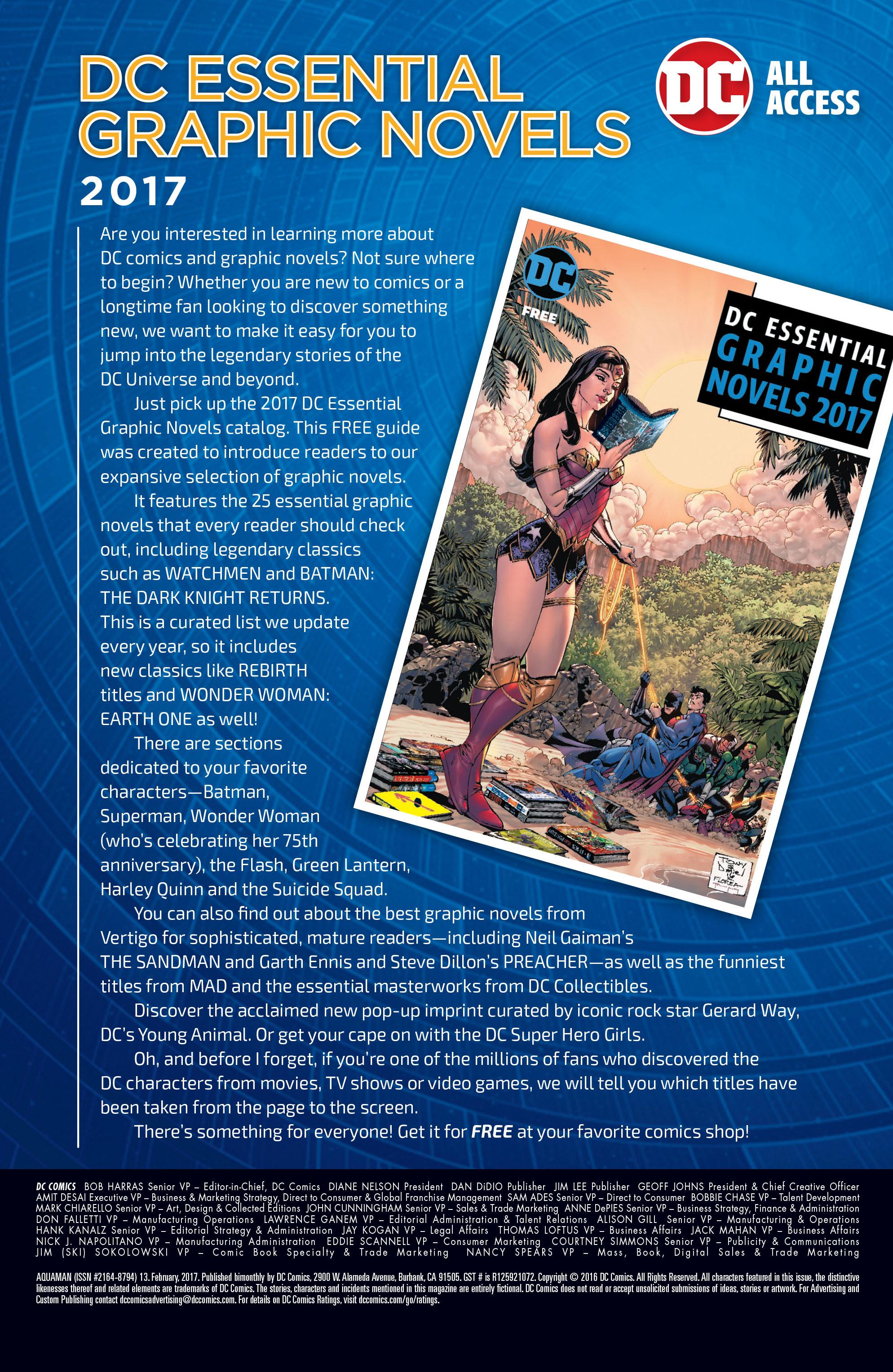 Read online Aquaman (2016) comic -  Issue #13 - 23