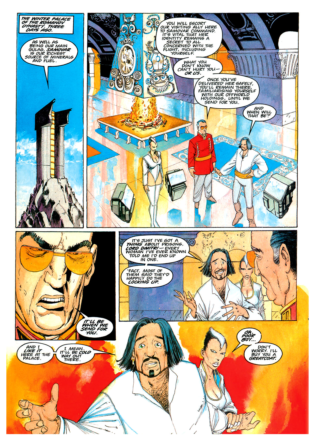 Read online Nikolai Dante comic -  Issue # TPB 1 - 159