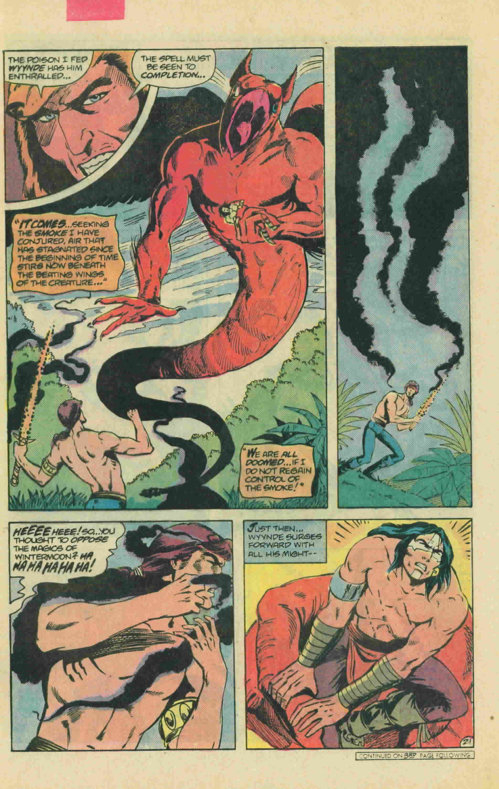 Read online Arion, Lord of Atlantis comic -  Issue #13 - 29