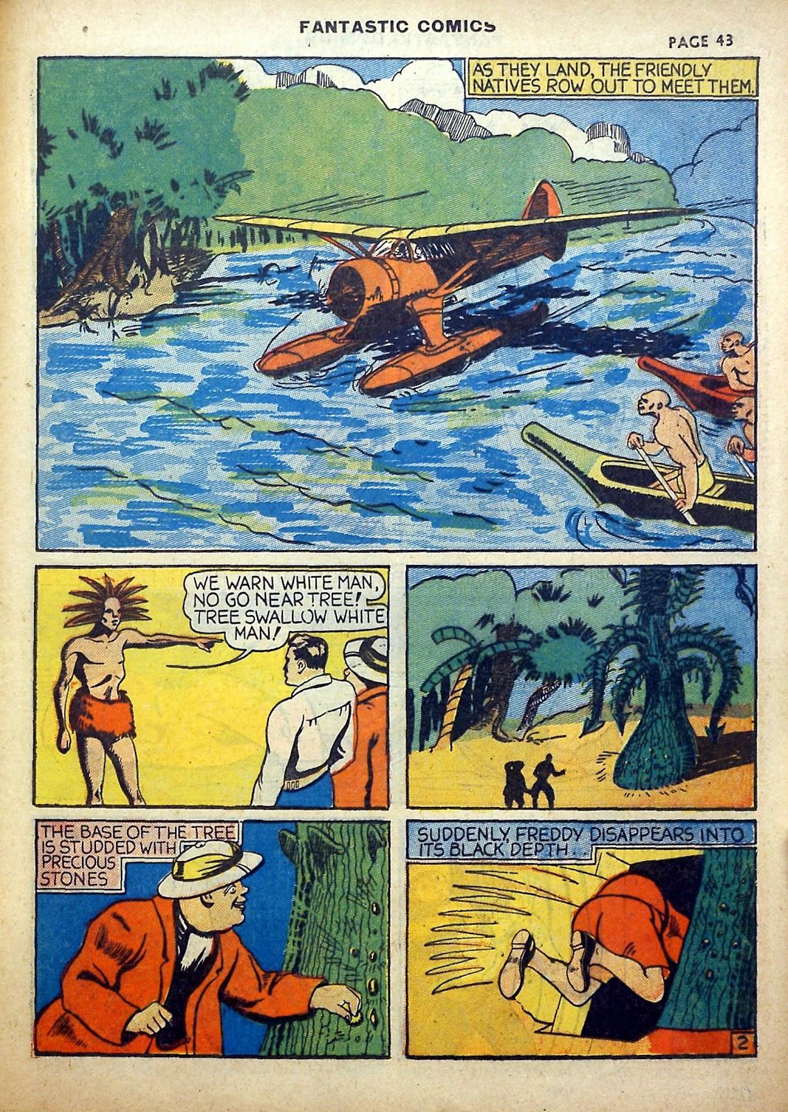 Read online Fantastic Comics comic -  Issue #5 - 44