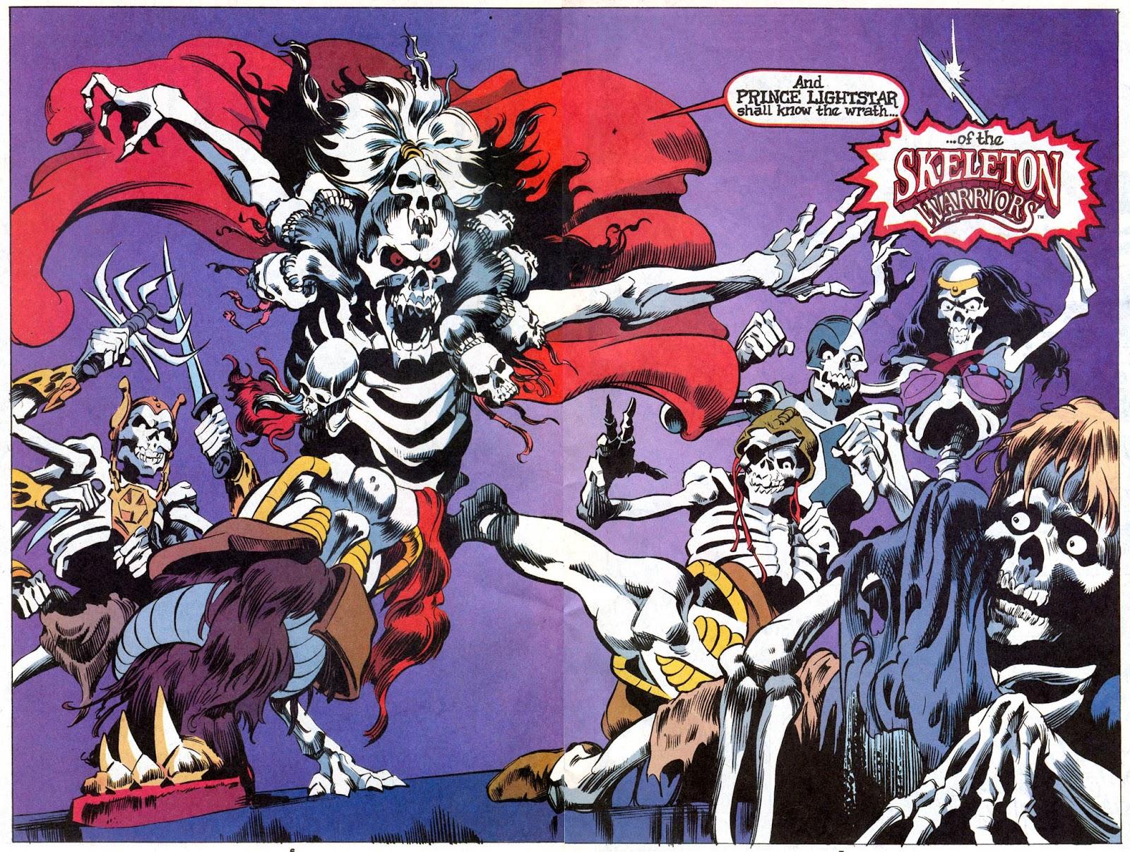 Skeleton Warriors Issue #1 #1 - English 6