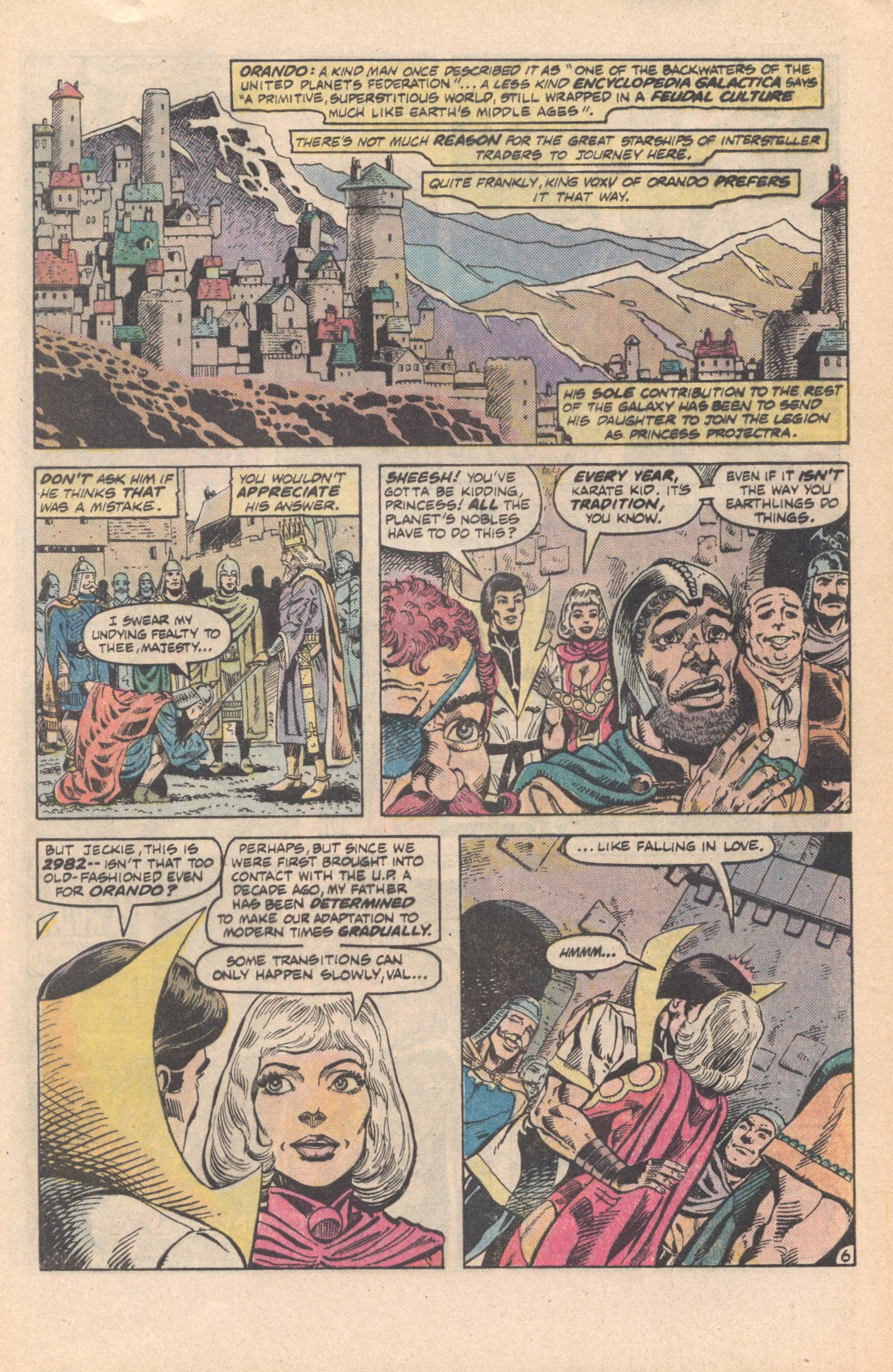 Legion of Super-Heroes (1980) 285 Page 6