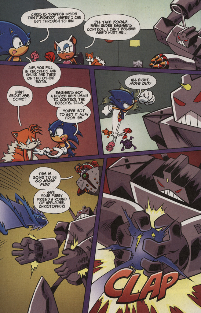 Read online Sonic X comic -  Issue #4 - 20
