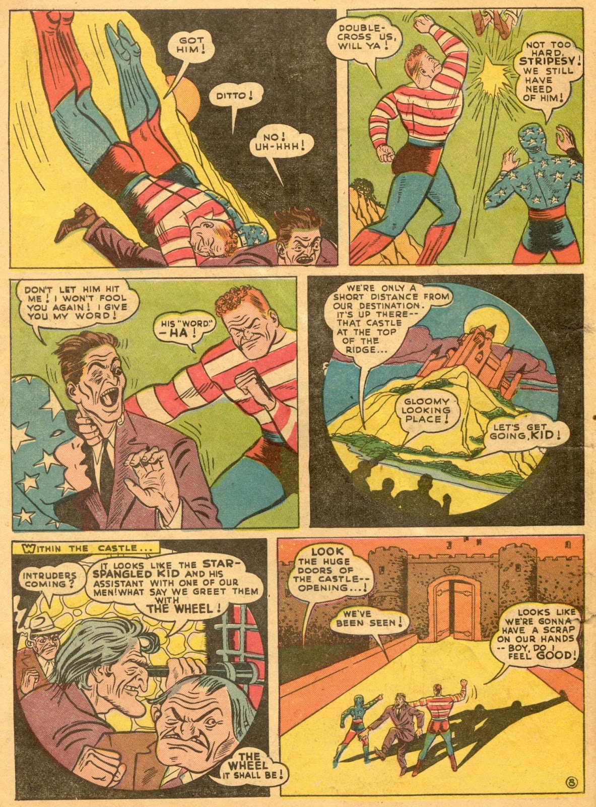 Star Spangled Comics (1941) issue 1 - Page 10
