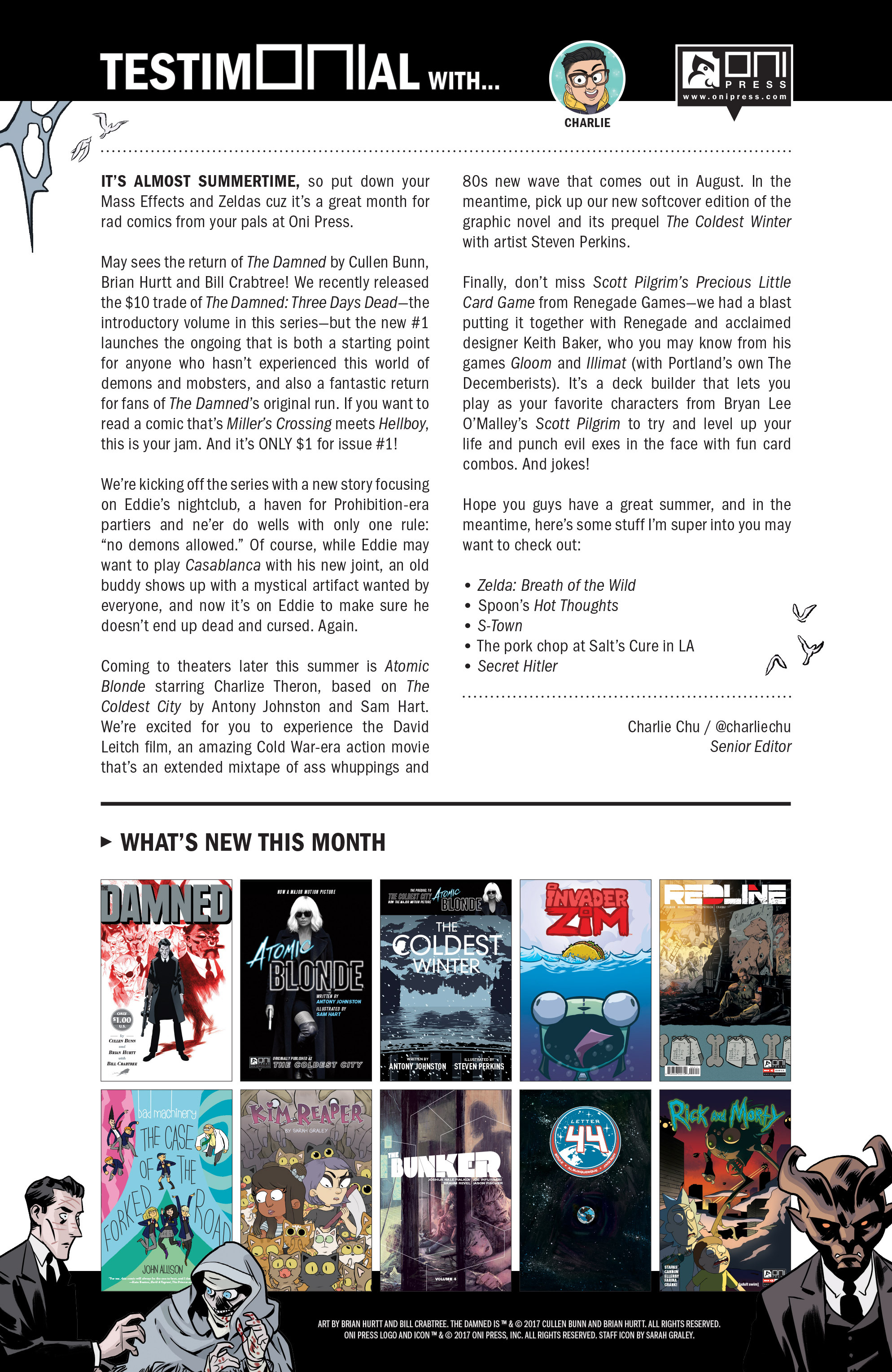 Read online The Damned comic -  Issue #1 - 29