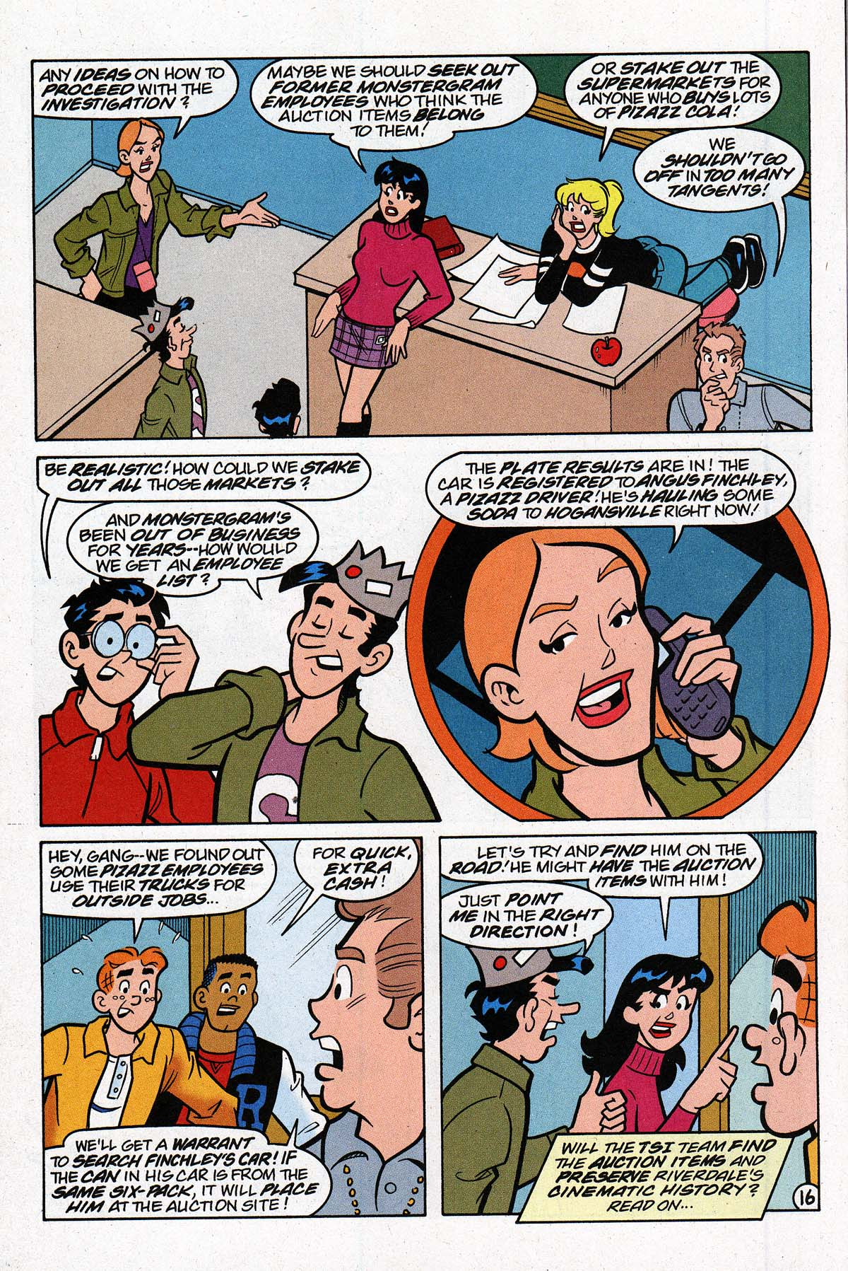 Read online Archie's Weird Mysteries comic -  Issue #27 - 23