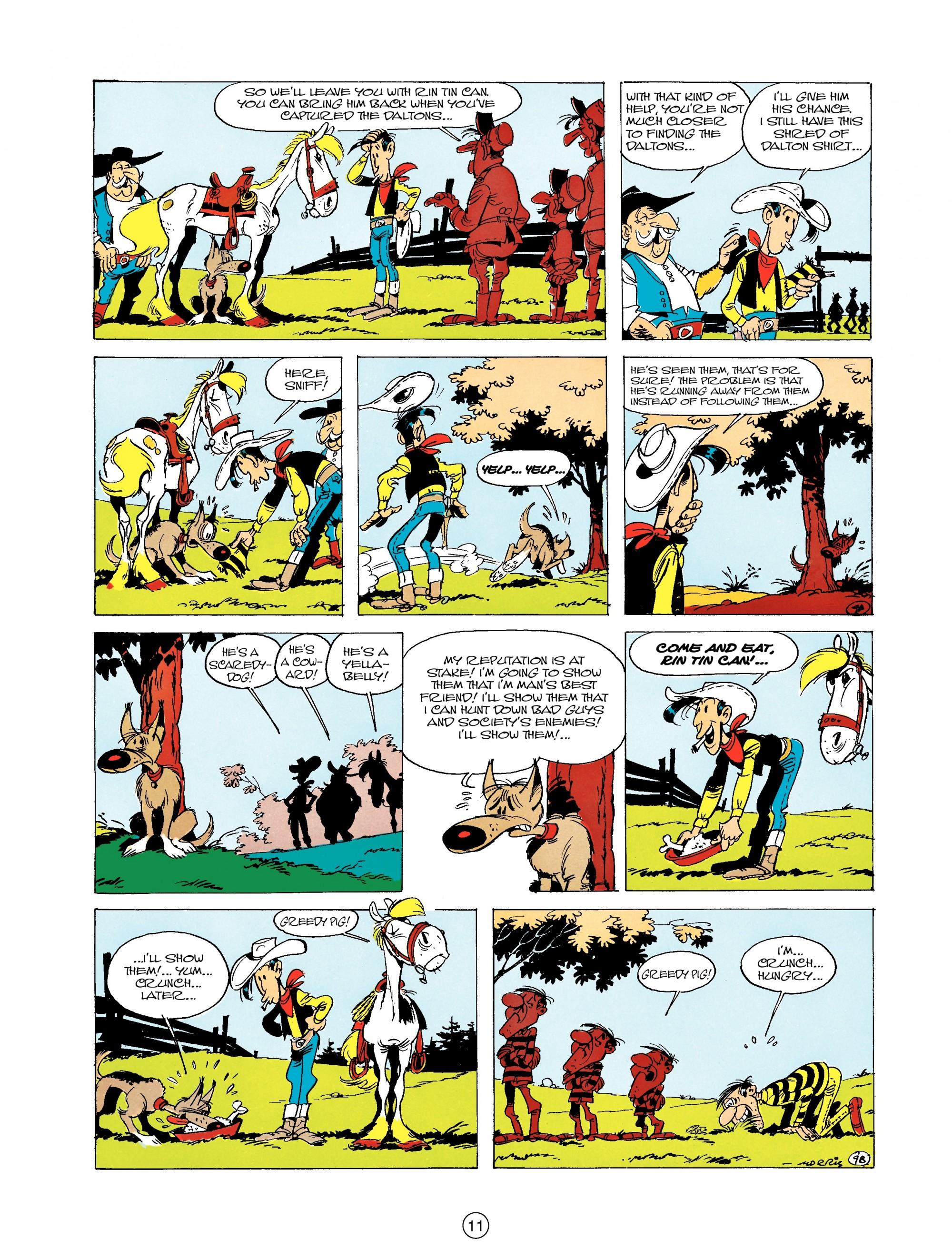 Read online A Lucky Luke Adventure comic -  Issue #19 - 11