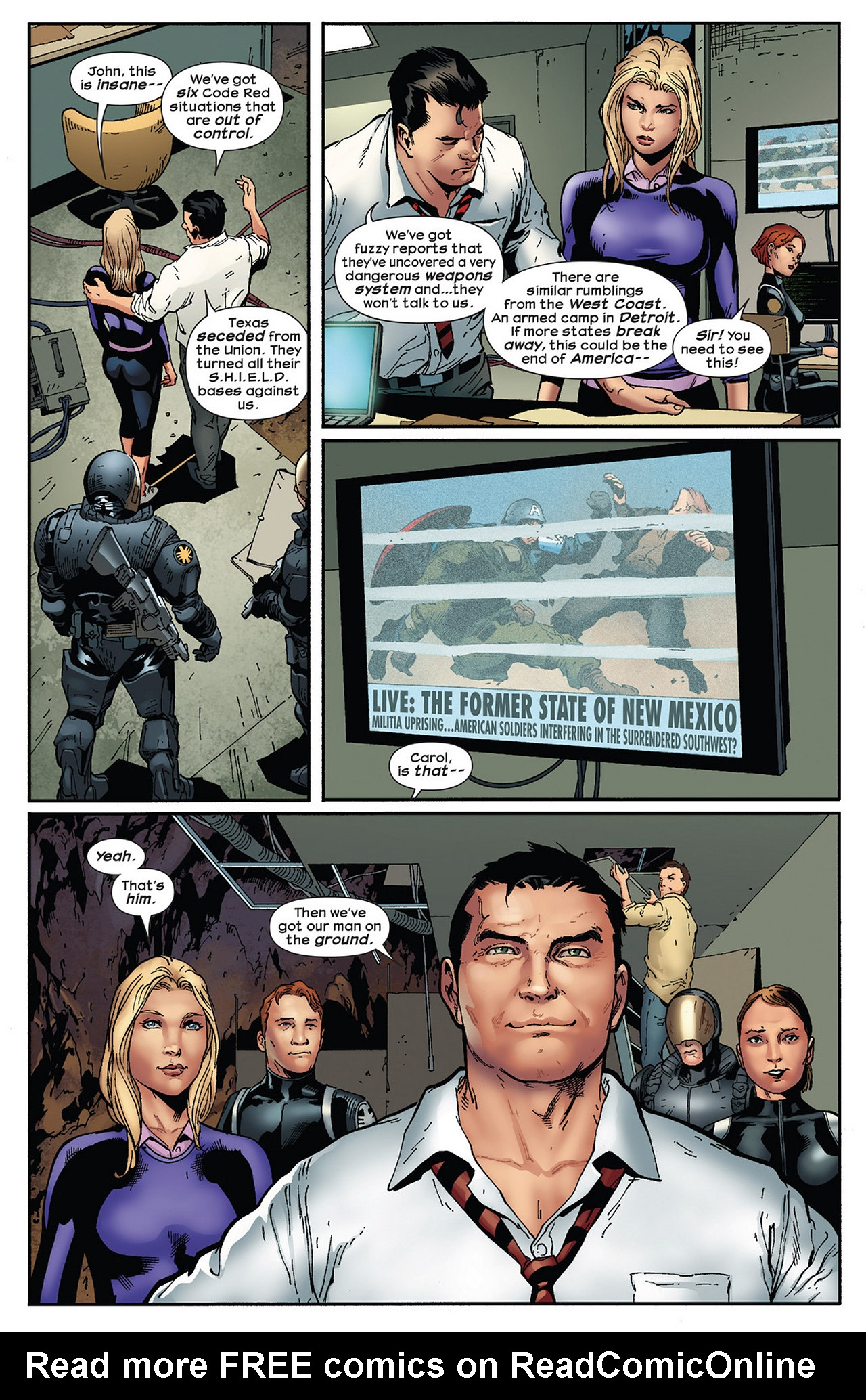 Read online Ultimate Comics Ultimates comic -  Issue #13 - 6