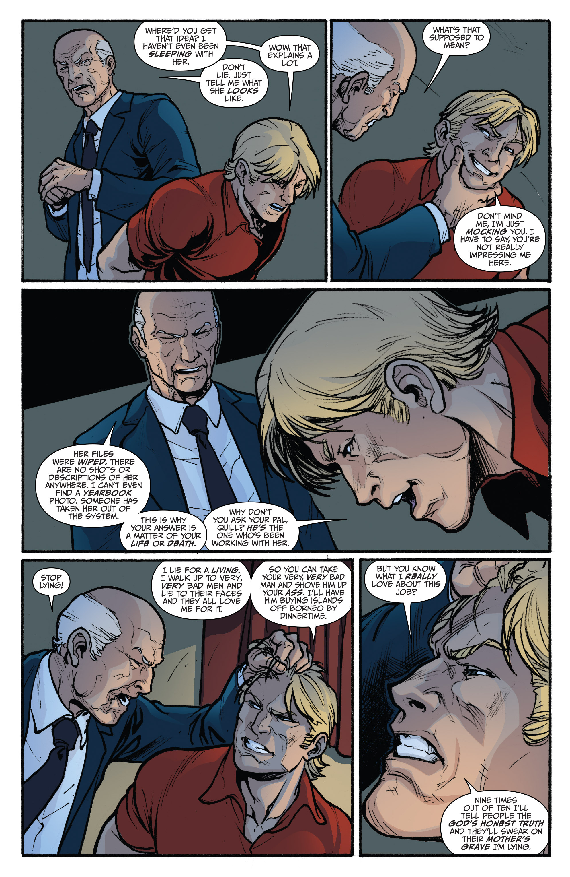 Read online 3 Guns comic -  Issue #4 - 22