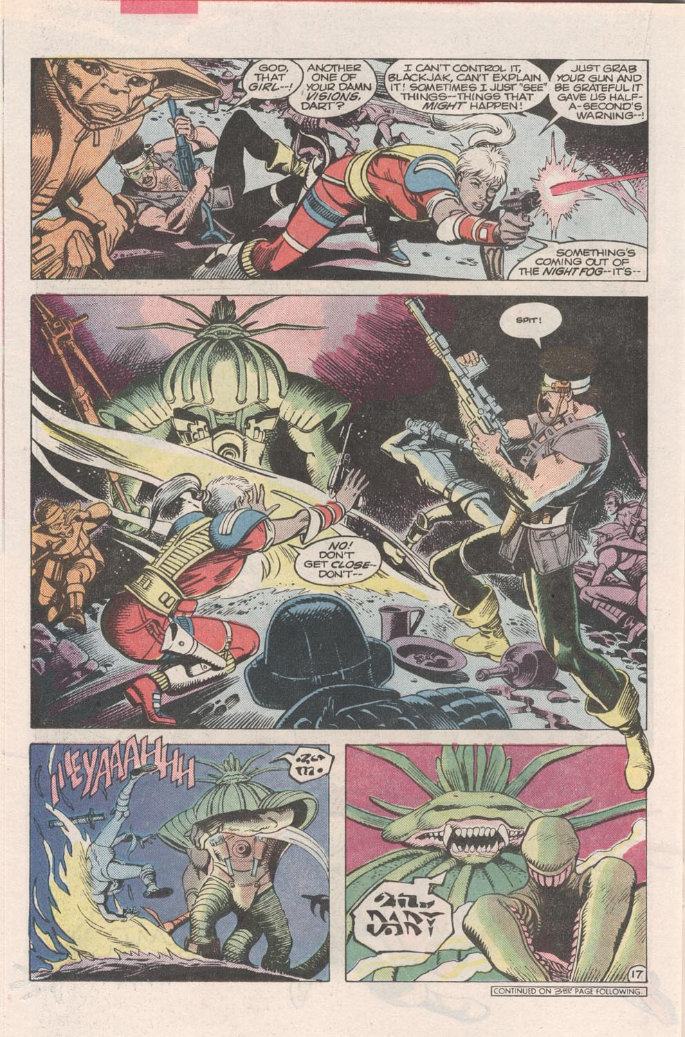 Read online Atari Force (1984) comic -  Issue #2 - 19