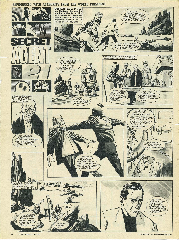 Read online TV Century 21 (TV 21) comic -  Issue #149 - 21