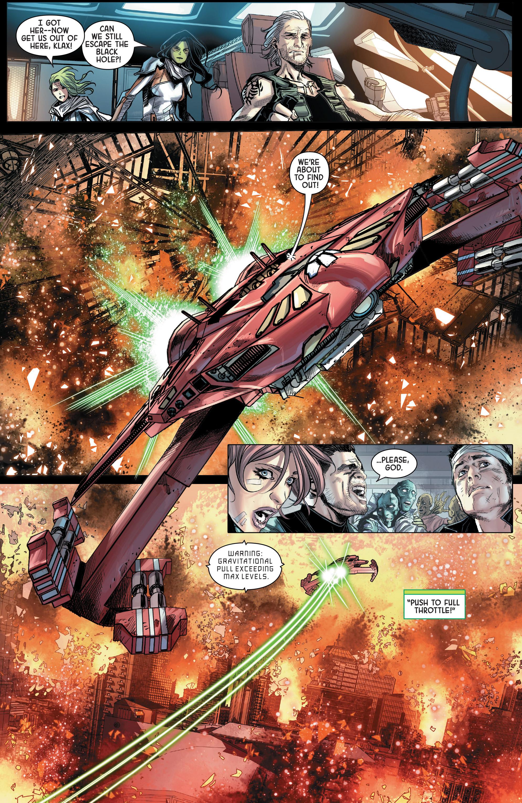 Read online Gamora comic -  Issue #5 - 14