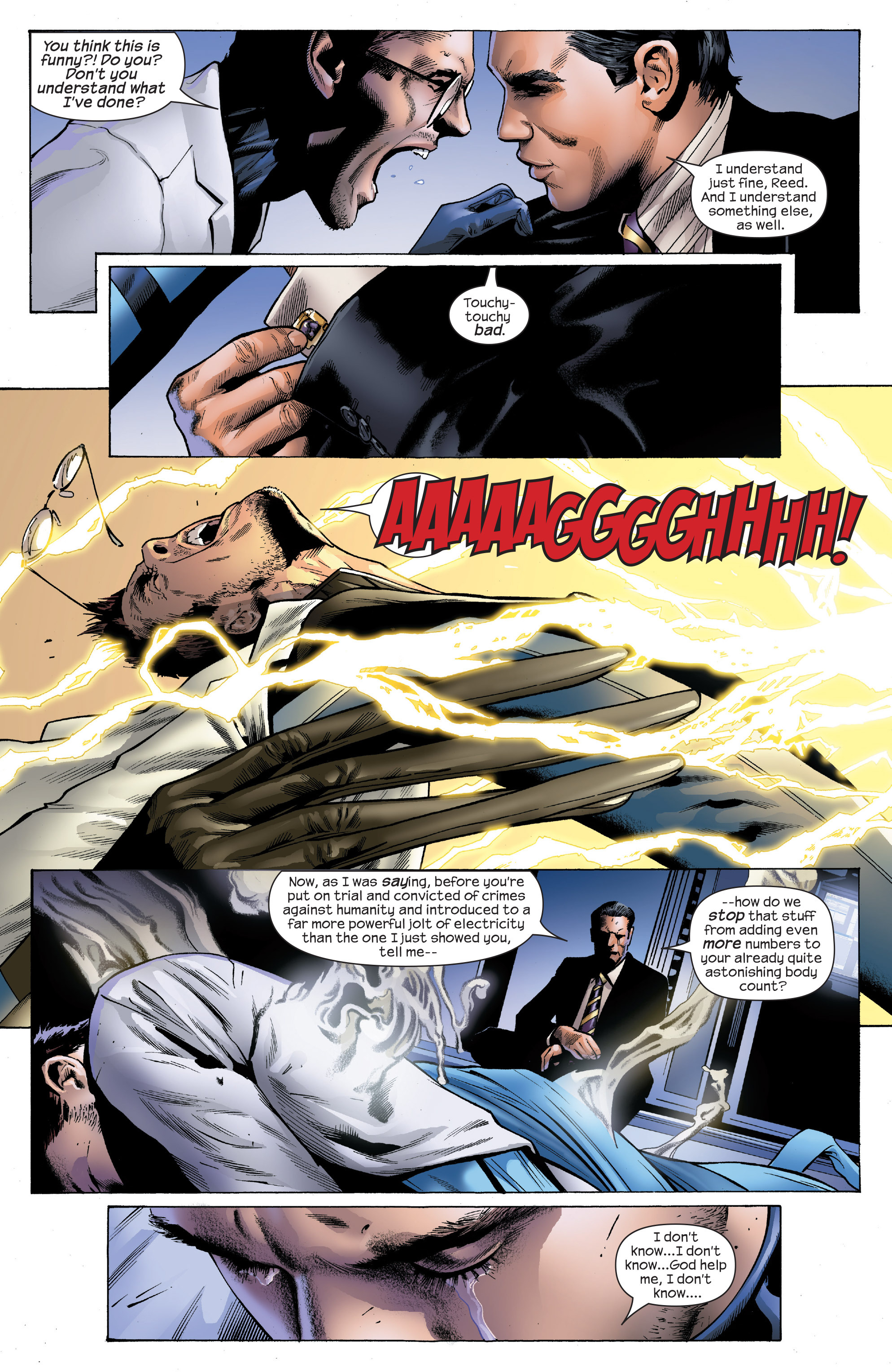 Read online Ultimate Power comic -  Issue #4 - 14