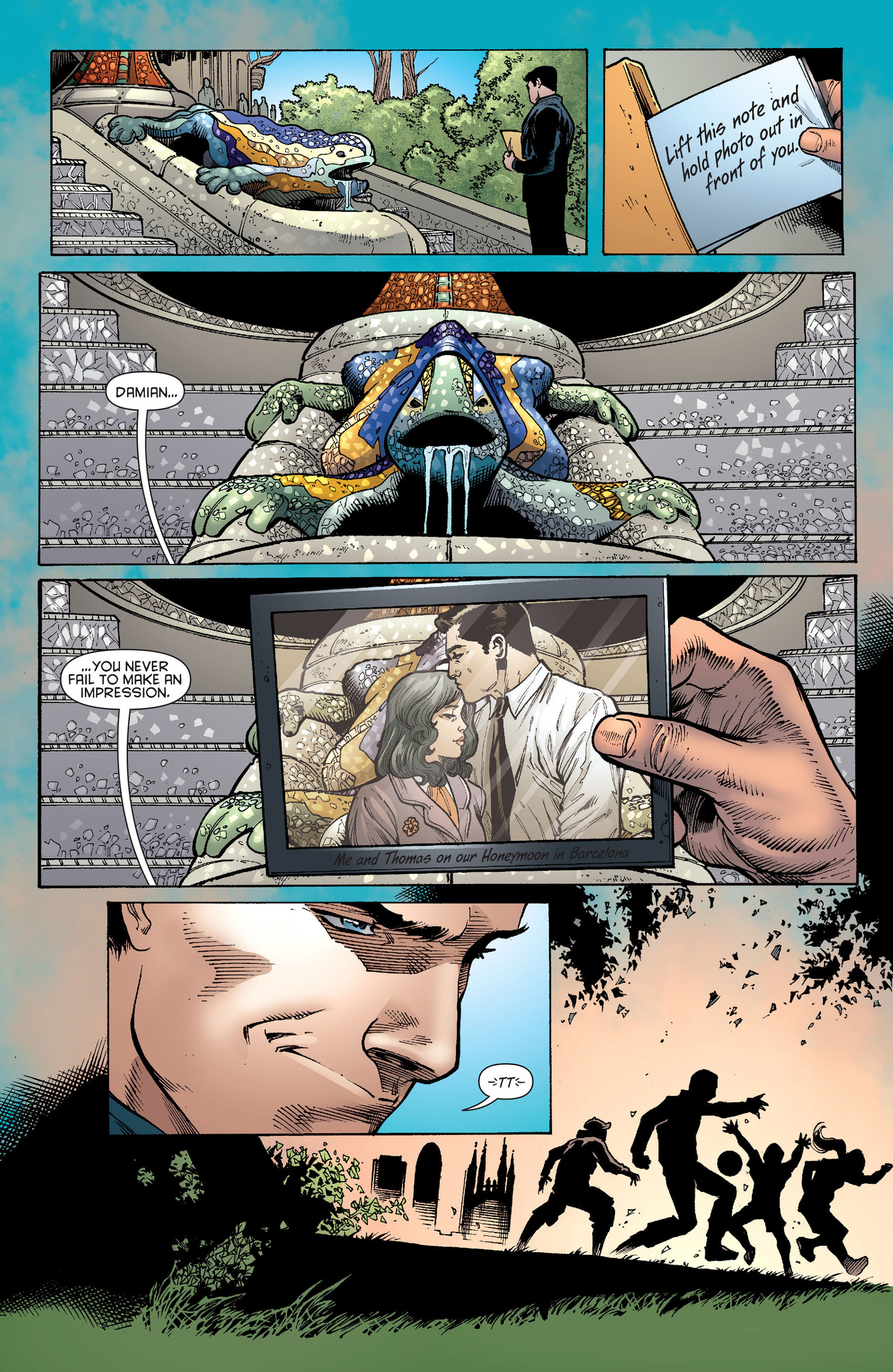 Read online Batman and Robin (2011) comic -  Issue # Annual 1 - 26