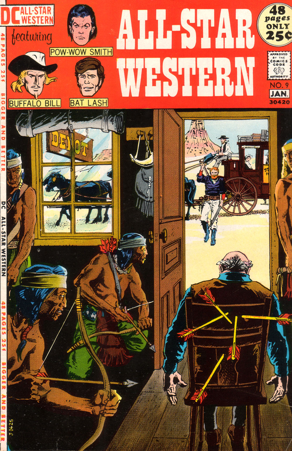 Read online All-Star Western (1970) comic -  Issue #9 - 1