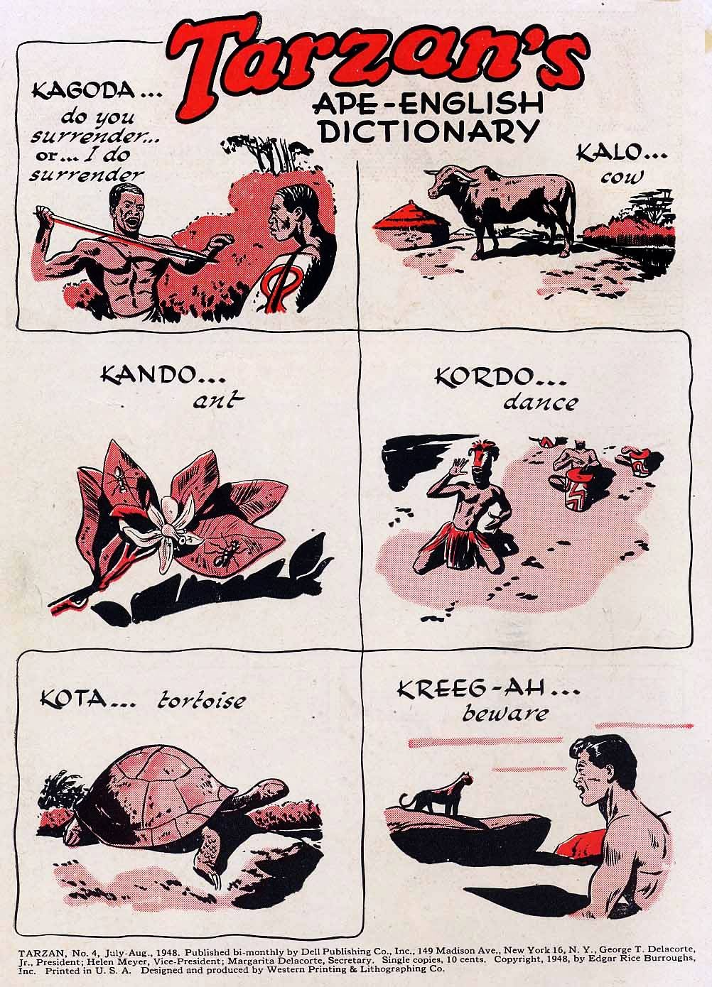 Tarzan (1948) issue 4 - Page 2