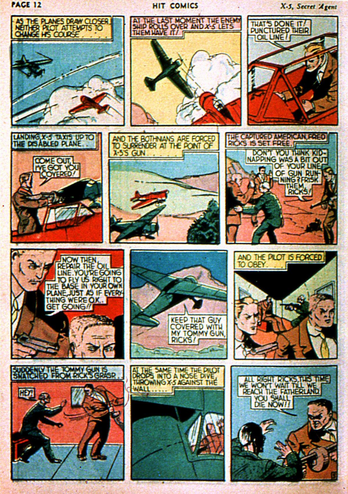 Read online Hit Comics comic -  Issue #3 - 14