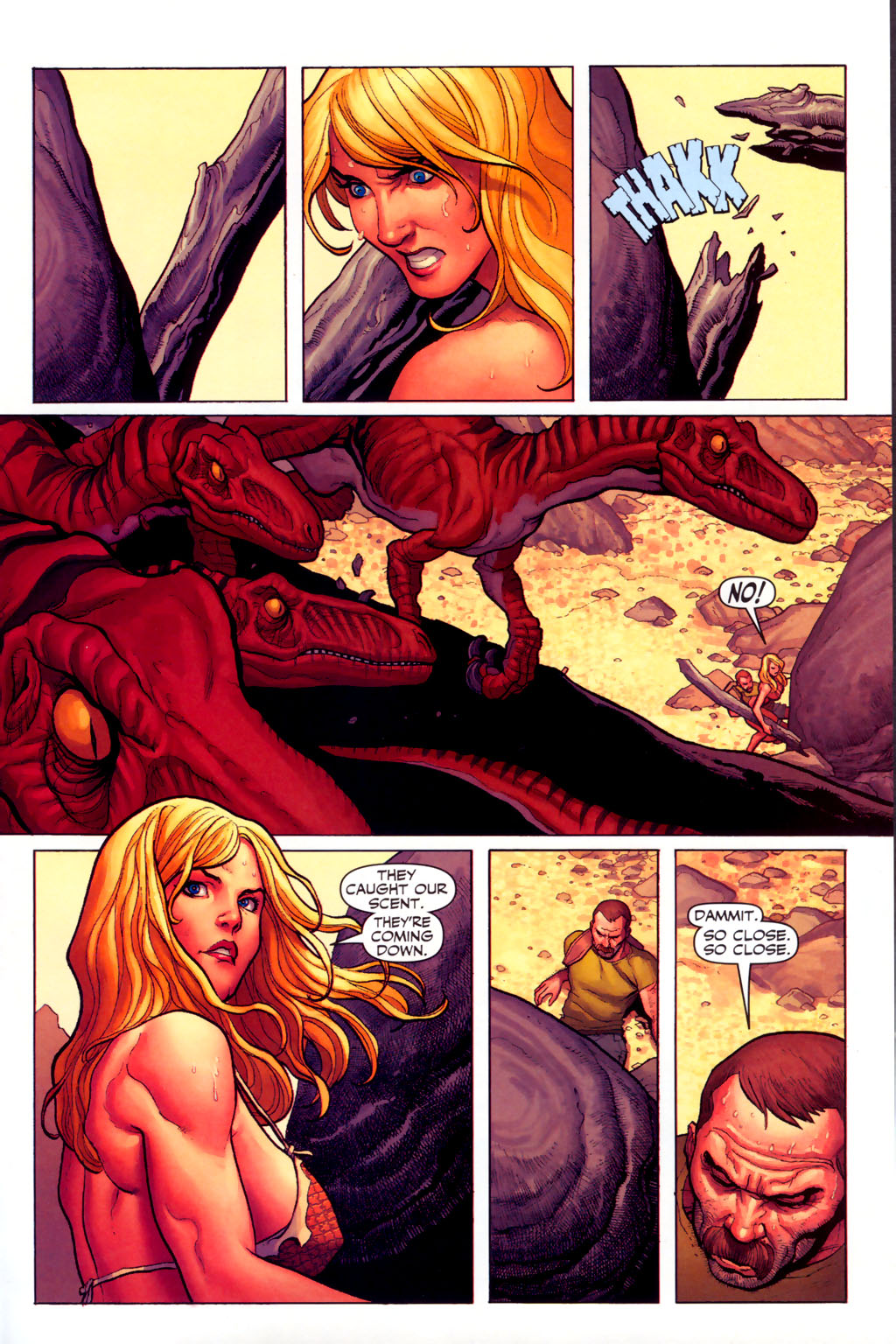 Read online Shanna, the She-Devil (2005) comic -  Issue #6 - 19