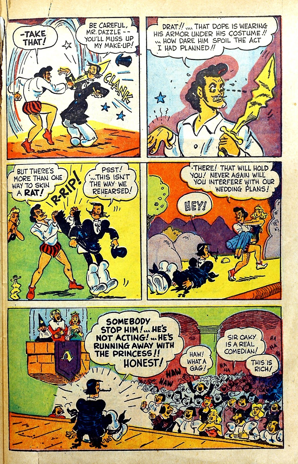 Read online Famous Funnies comic -  Issue #145 - 47