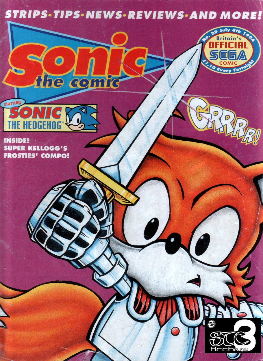 Read online Sonic the Comic comic -  Issue #29 - 1