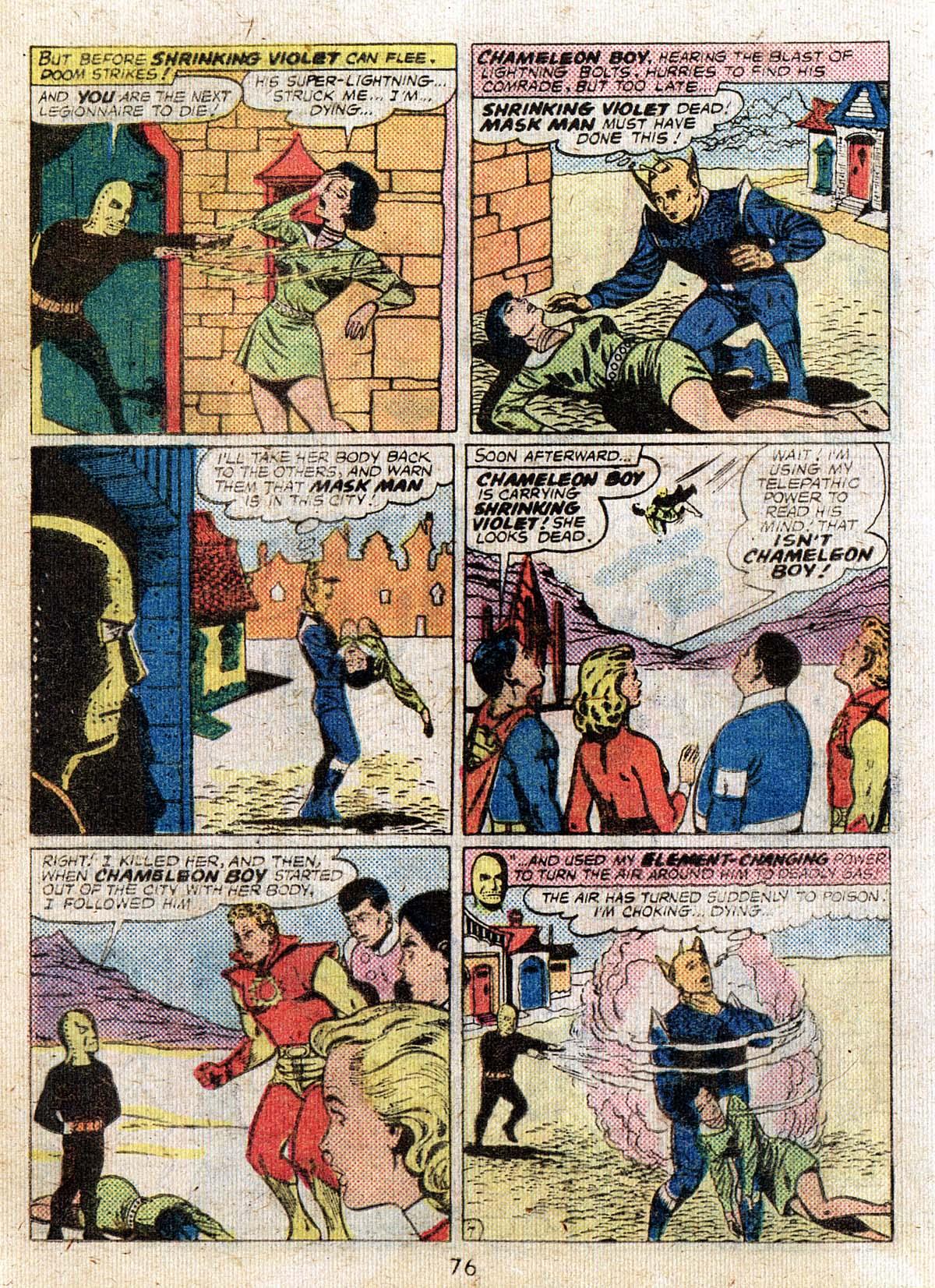 Read online Adventure Comics (1938) comic -  Issue #500 - 76