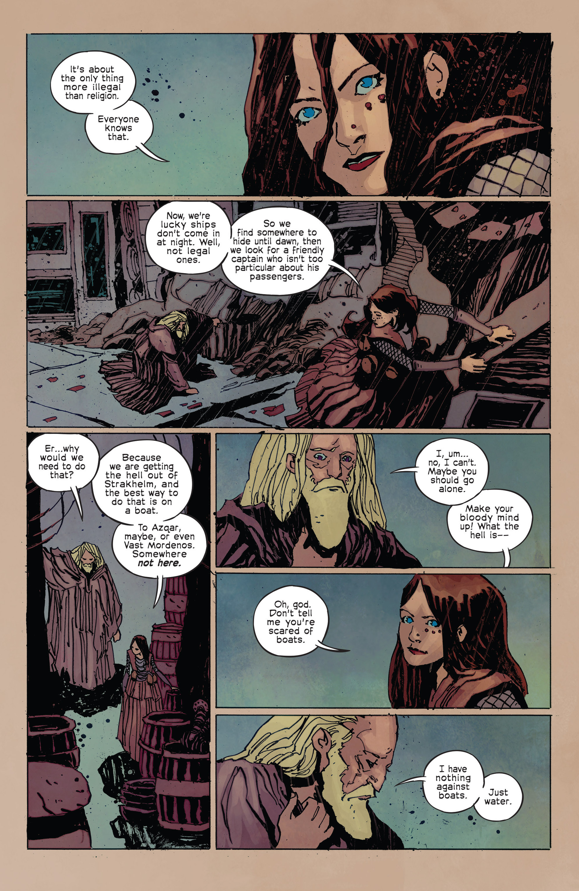 Read online Umbral comic -  Issue #2 - 20