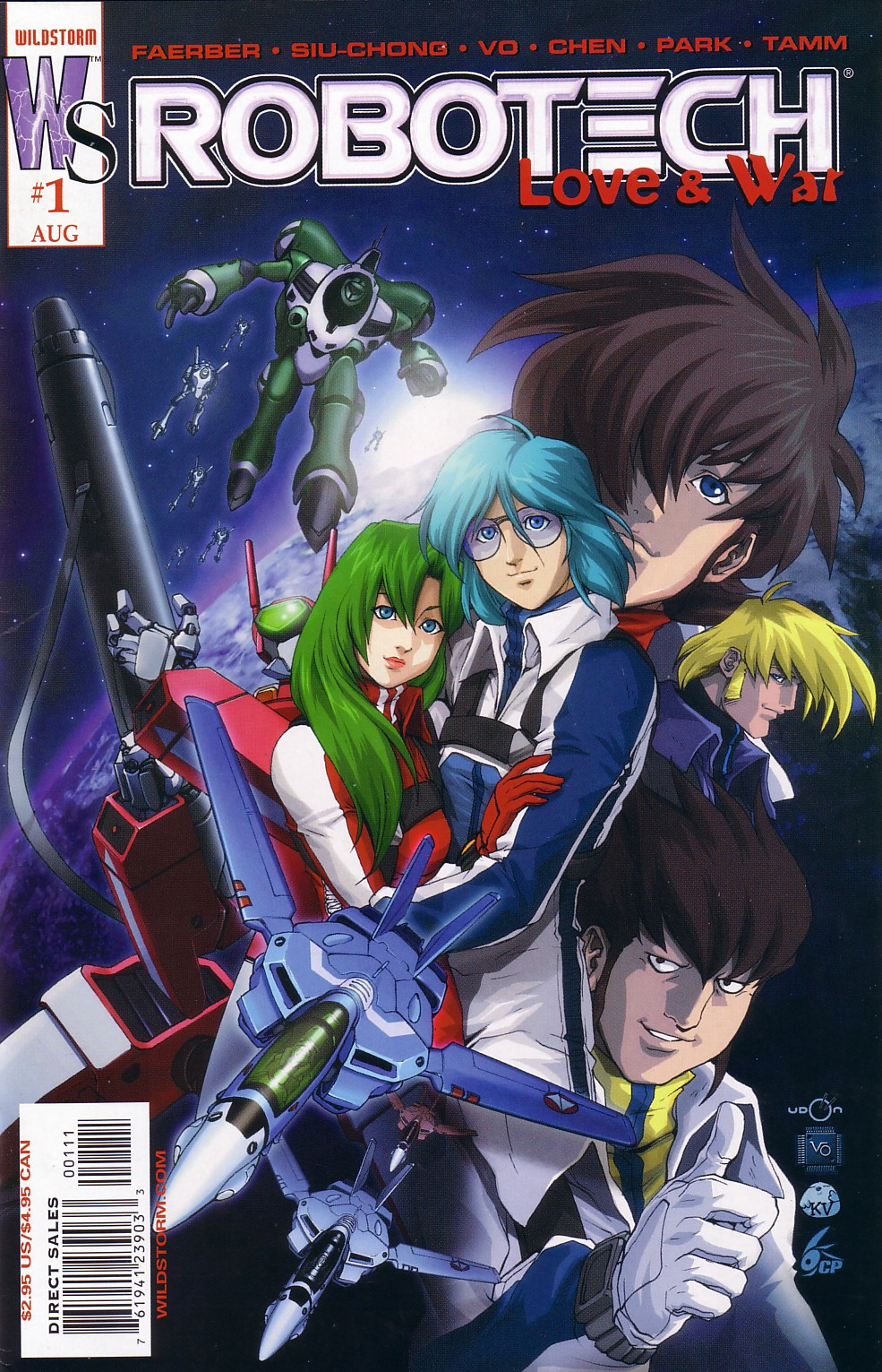 Read online Robotech: Love and War comic -  Issue #1 - 2