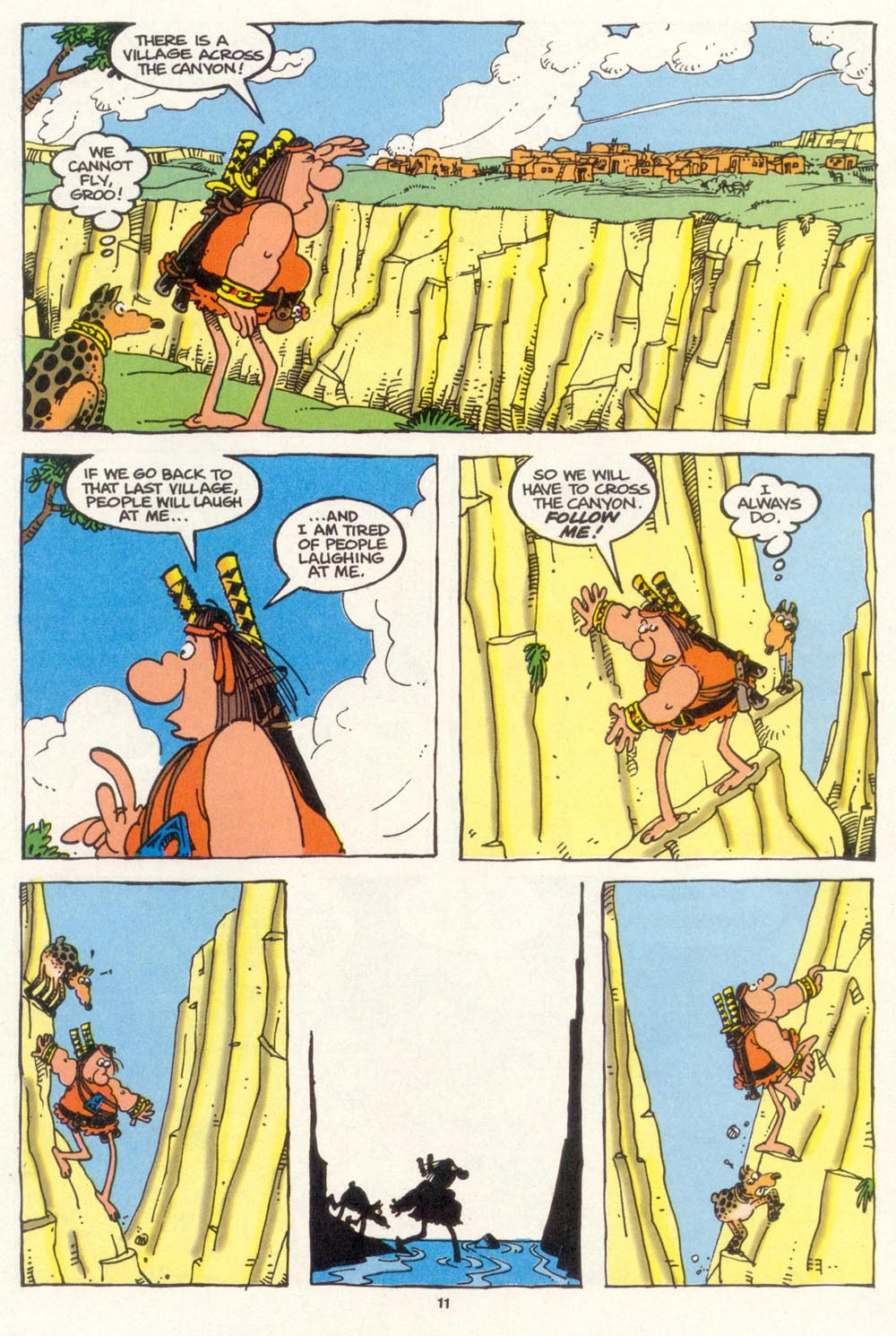 Read online Sergio Aragonés Groo the Wanderer comic -  Issue #102 - 13