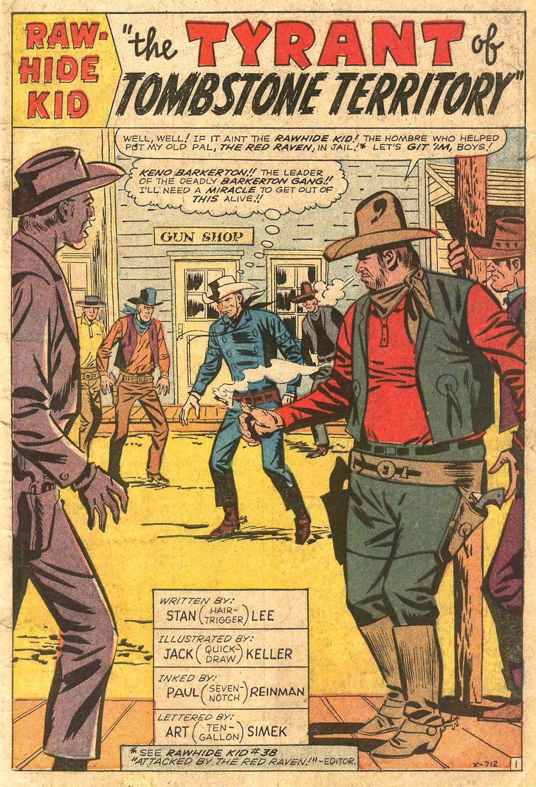 The Rawhide Kid (1955) issue 41 - Page 3