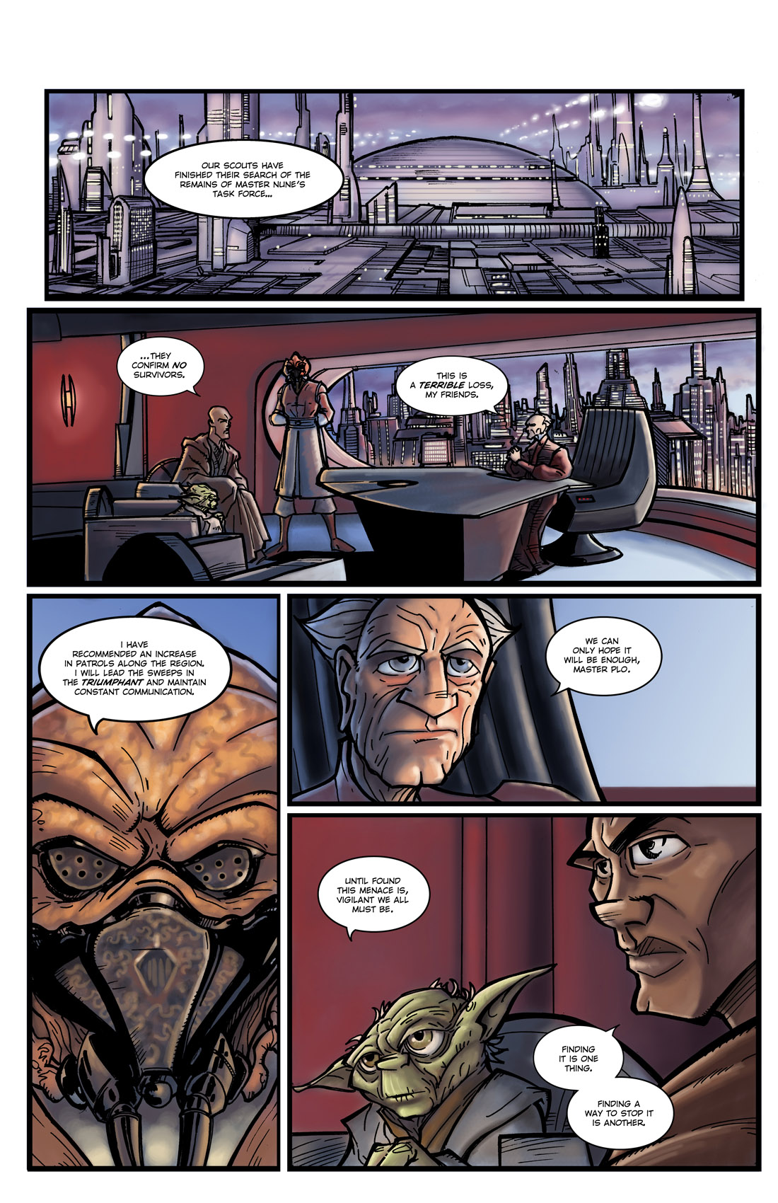 Read online Star Wars: Tales From The Clone Wars comic -  Issue # TPB - 16