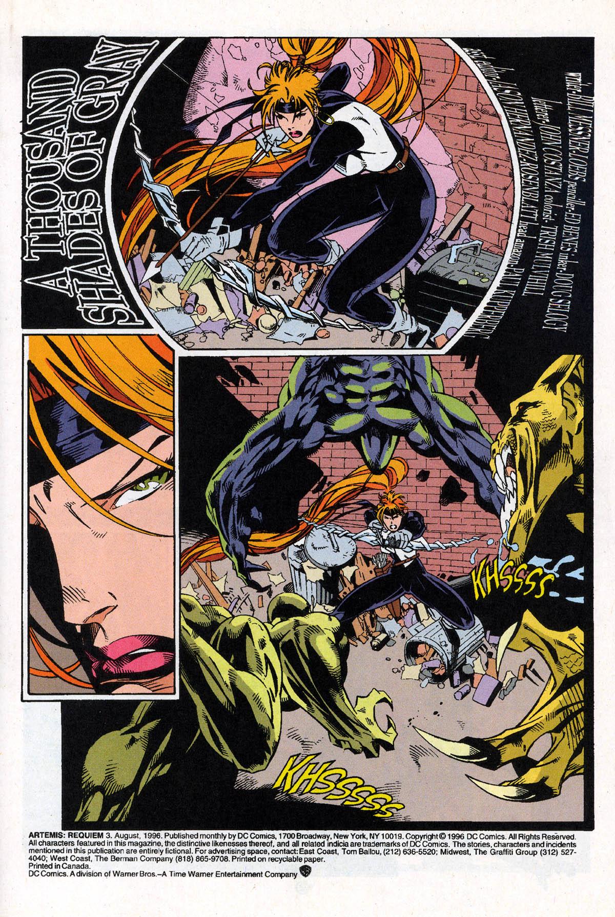 Read online Artemis: Requiem comic -  Issue #3 - 3
