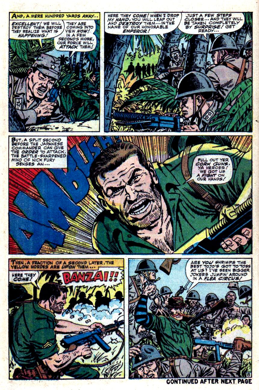 Read online Sgt. Fury comic -  Issue #49 - 12