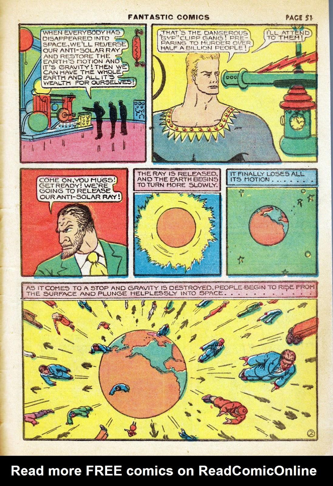 Read online Fantastic Comics comic -  Issue #7 - 53