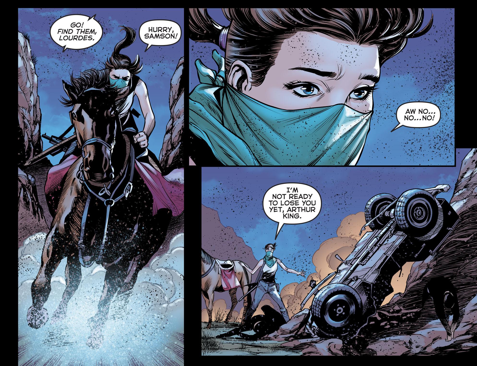 Read online Arrow: The Dark Archer comic -  Issue #5 - 10