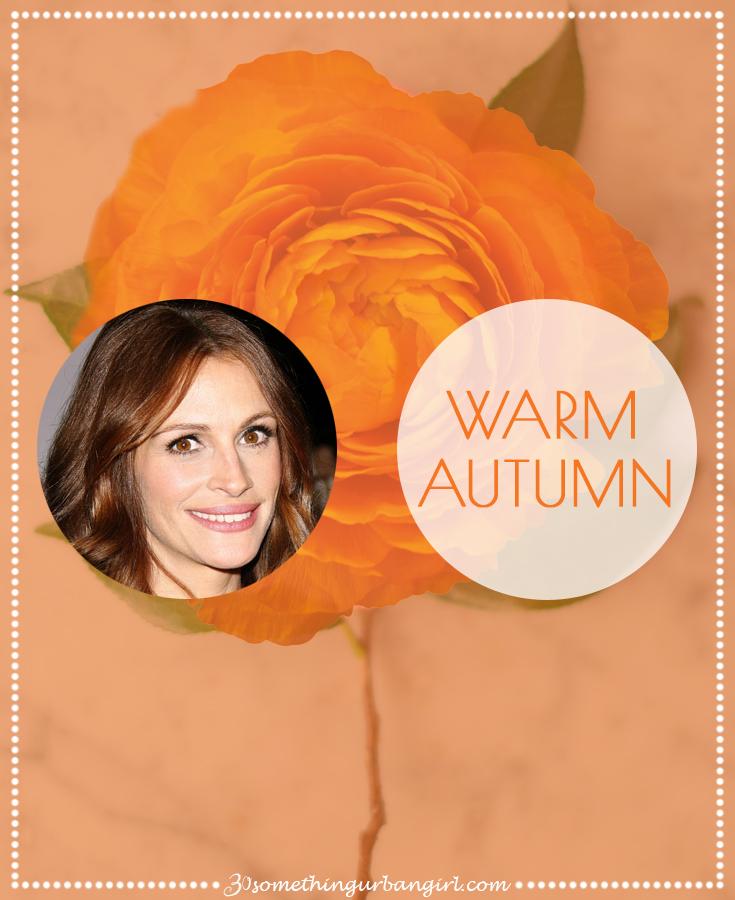 Warm Autumn seasonal color palette description by 30somethingurbangirl.com