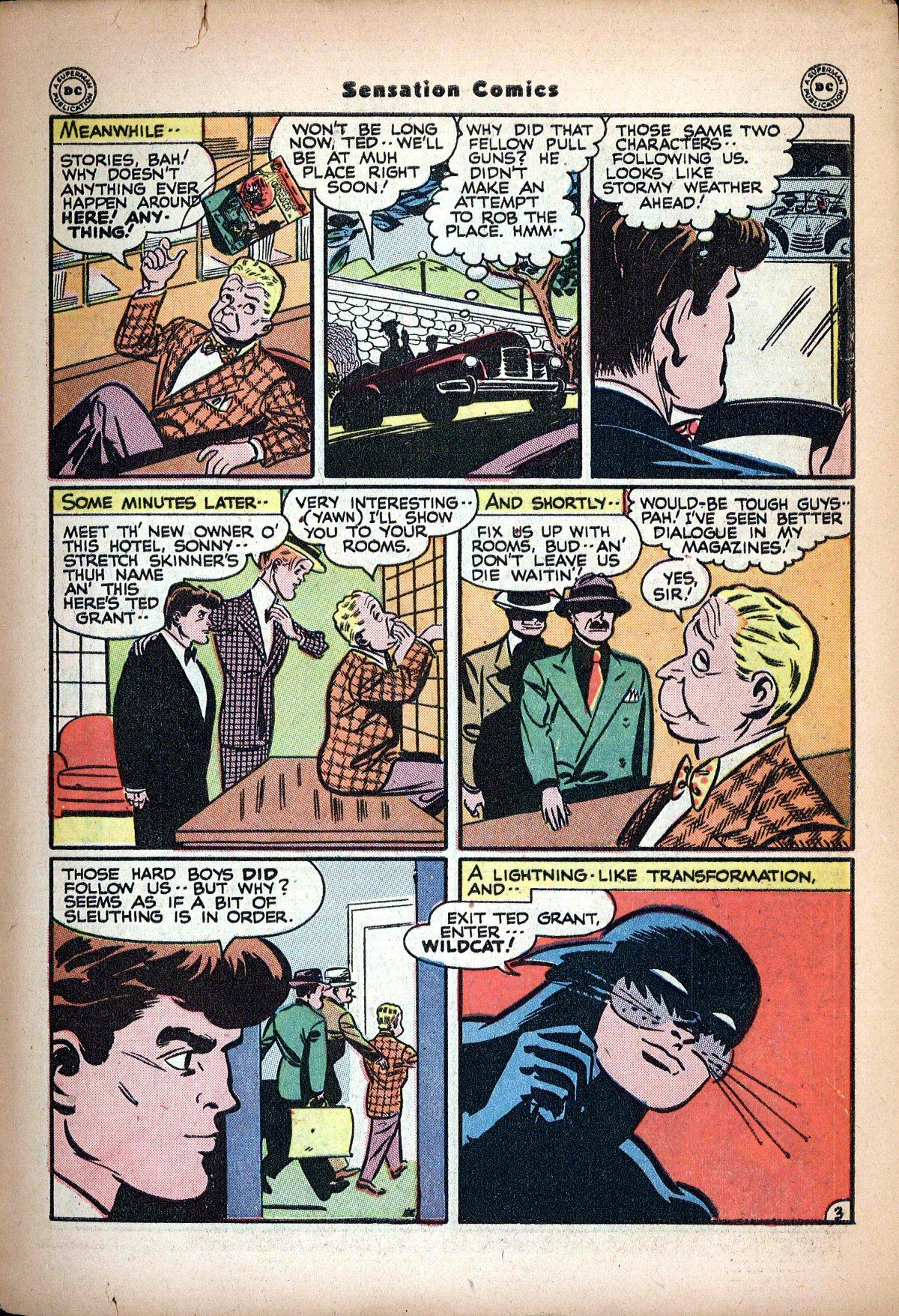 Read online Sensation (Mystery) Comics comic -  Issue #62 - 45