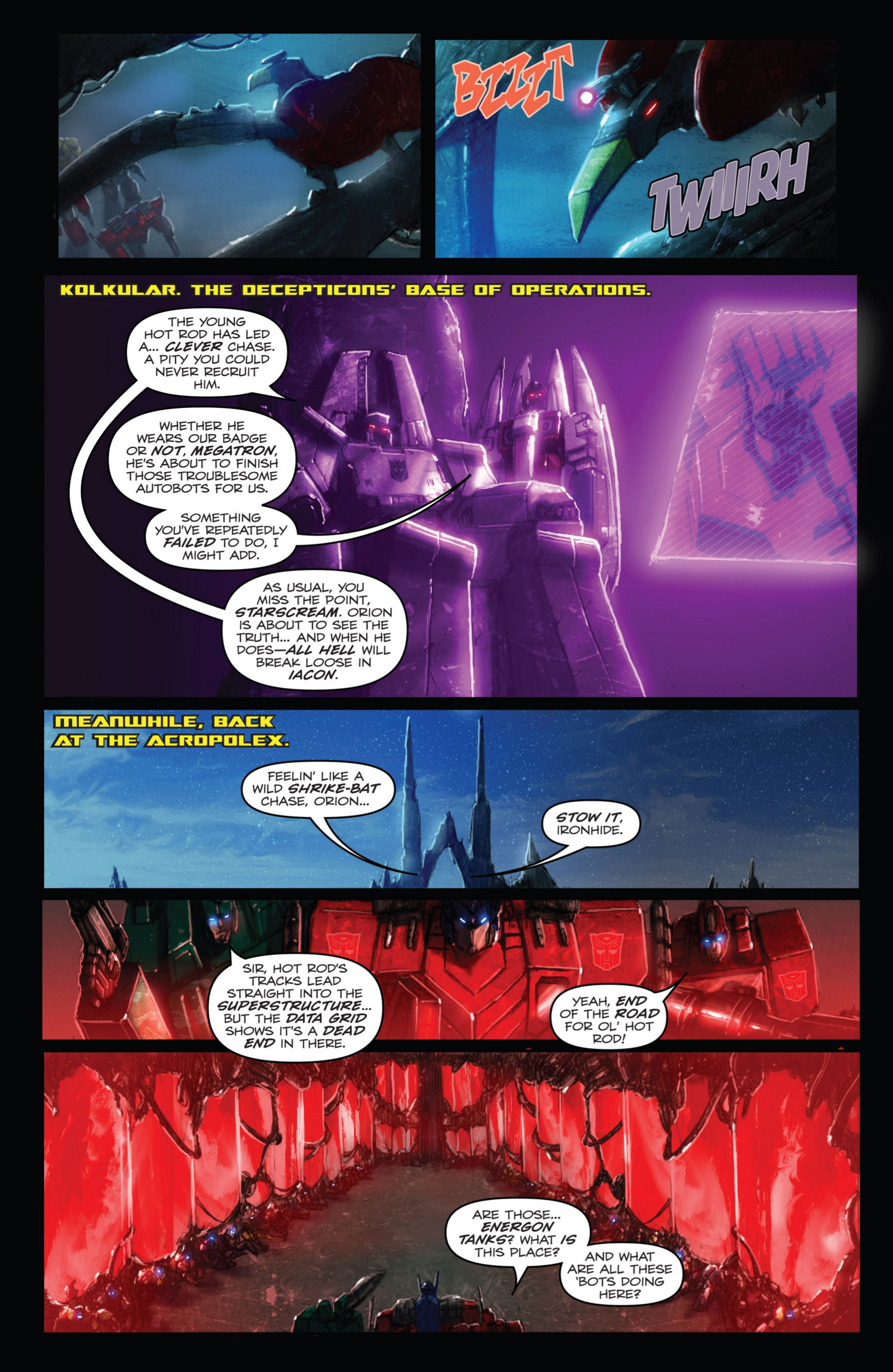 Read online Transformers: Autocracy comic -  Issue # Full - 48