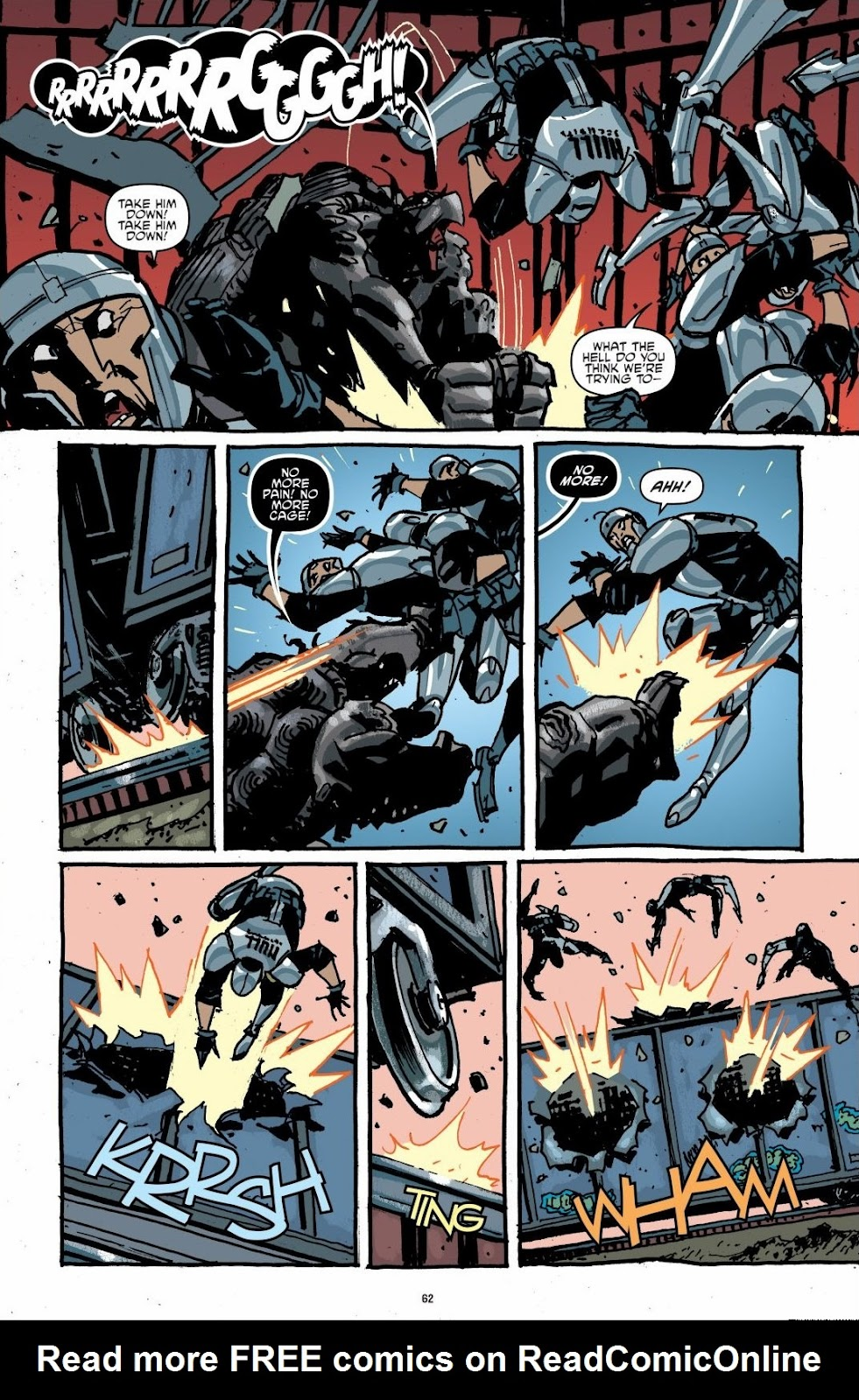 Read online Teenage Mutant Ninja Turtles: The IDW Collection comic -  Issue # TPB 6 (Part 1) - 61