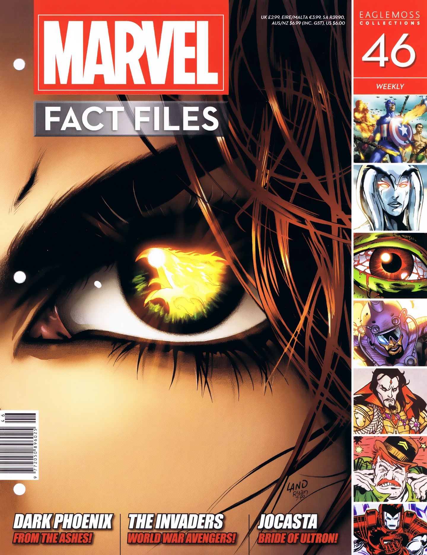 Marvel Fact Files 46 Page 1