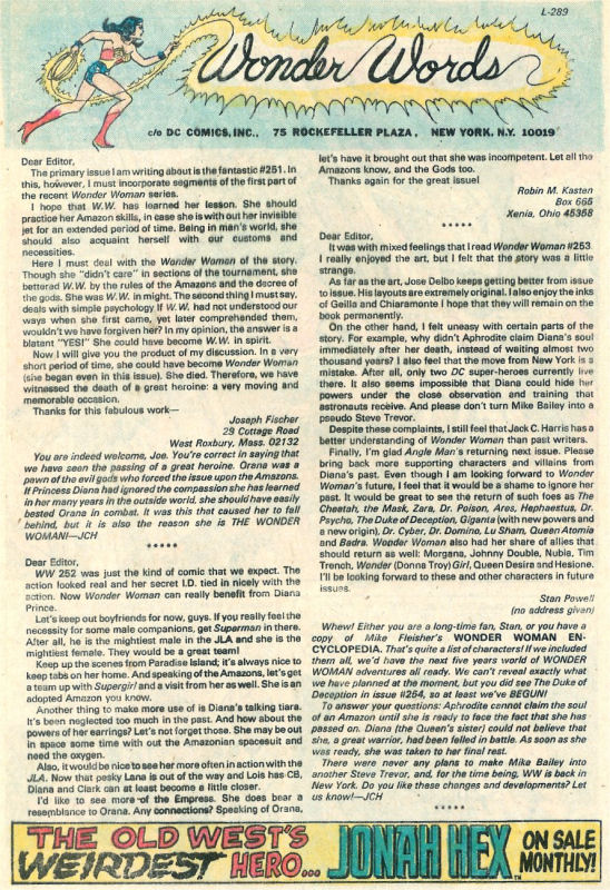 Read online Wonder Woman (1942) comic -  Issue #258 - 19