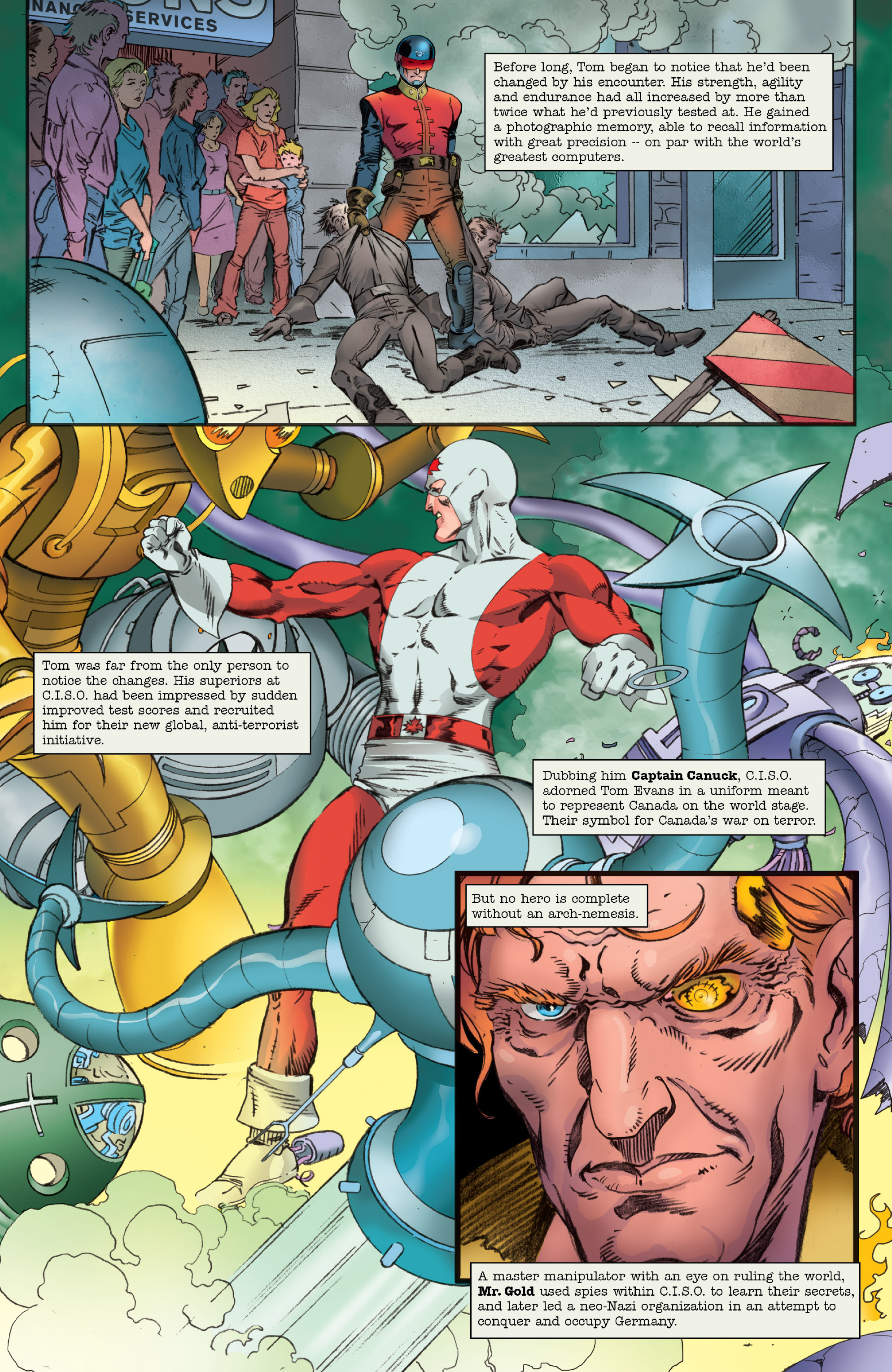 Read online All-New Classic Captain Canuck comic -  Issue #0 - 7