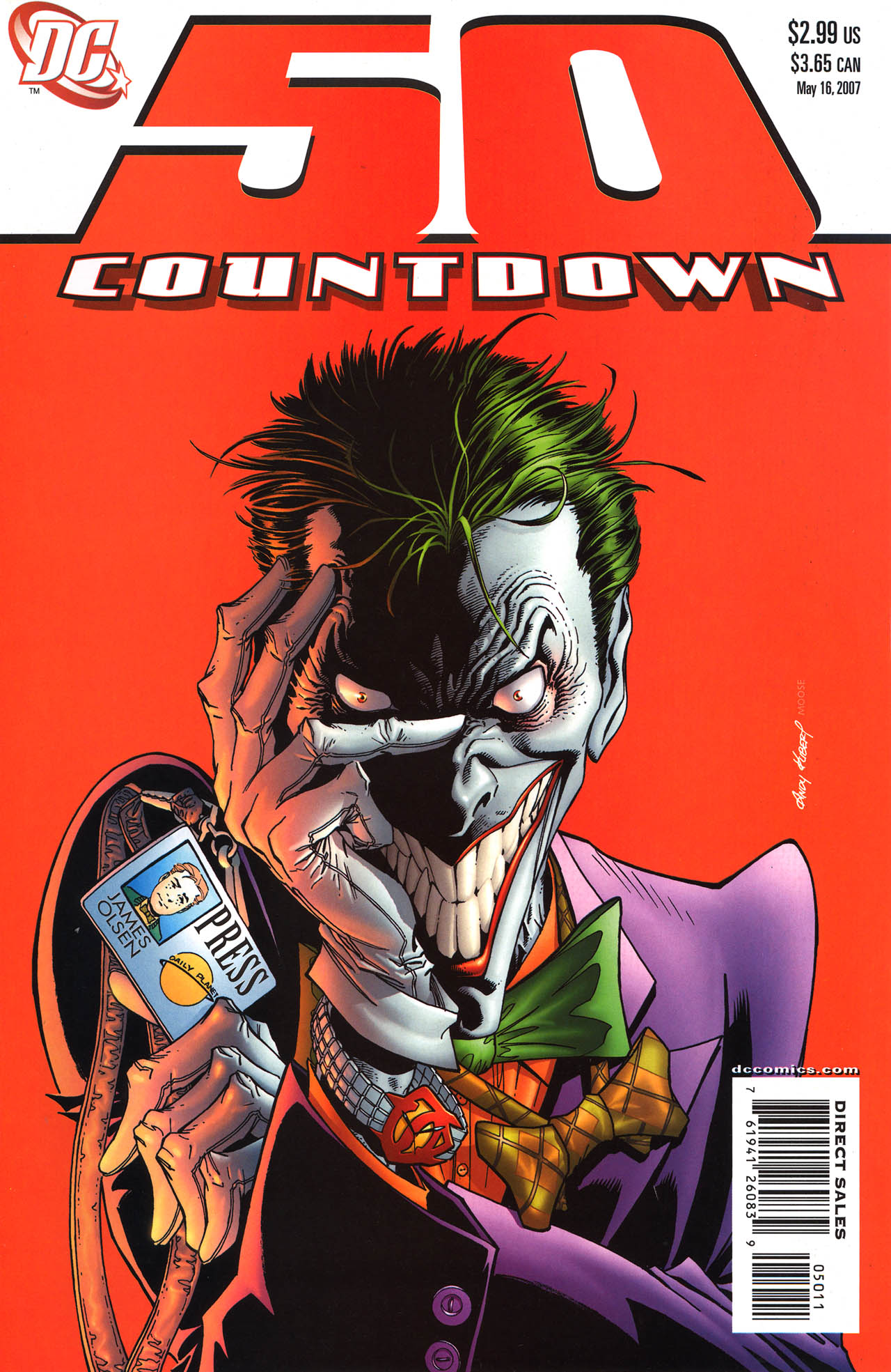 Countdown (2007) 50 Page 1