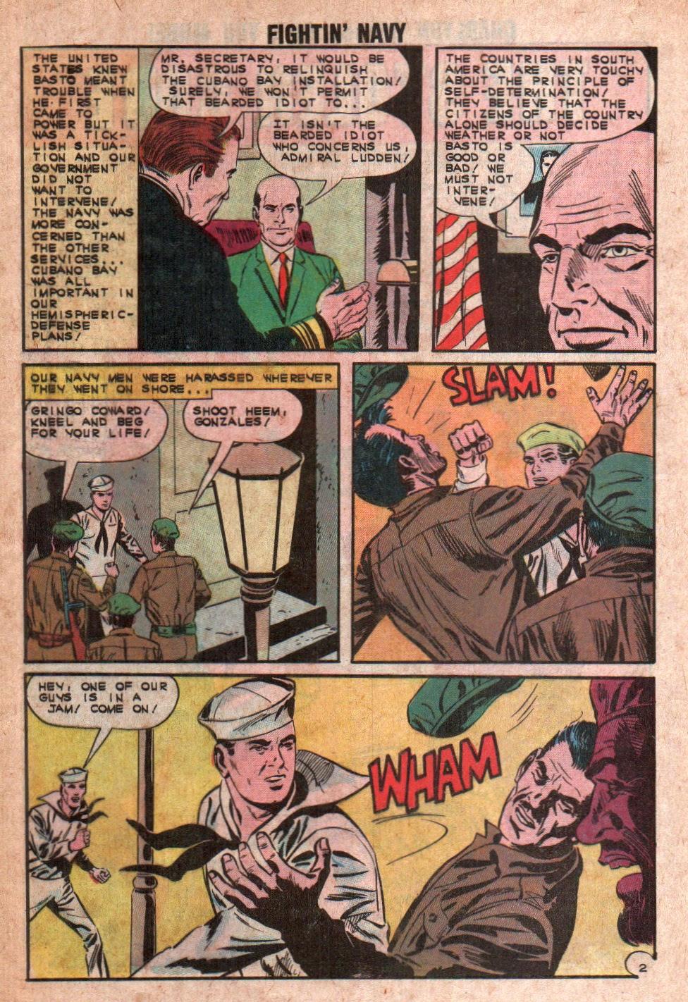 Read online Fightin' Navy comic -  Issue #108 - 12