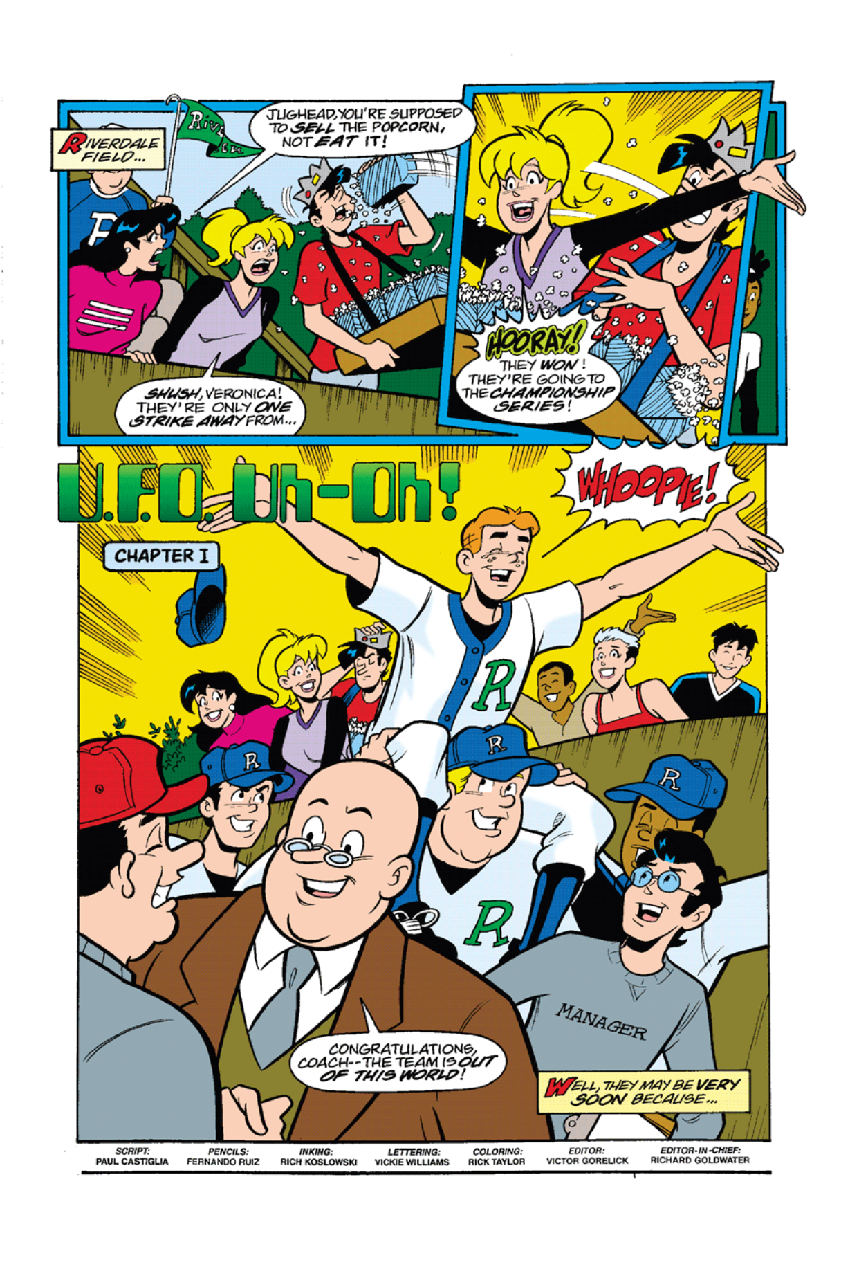 Read online Archie's Weird Mysteries comic -  Issue #7 - 3