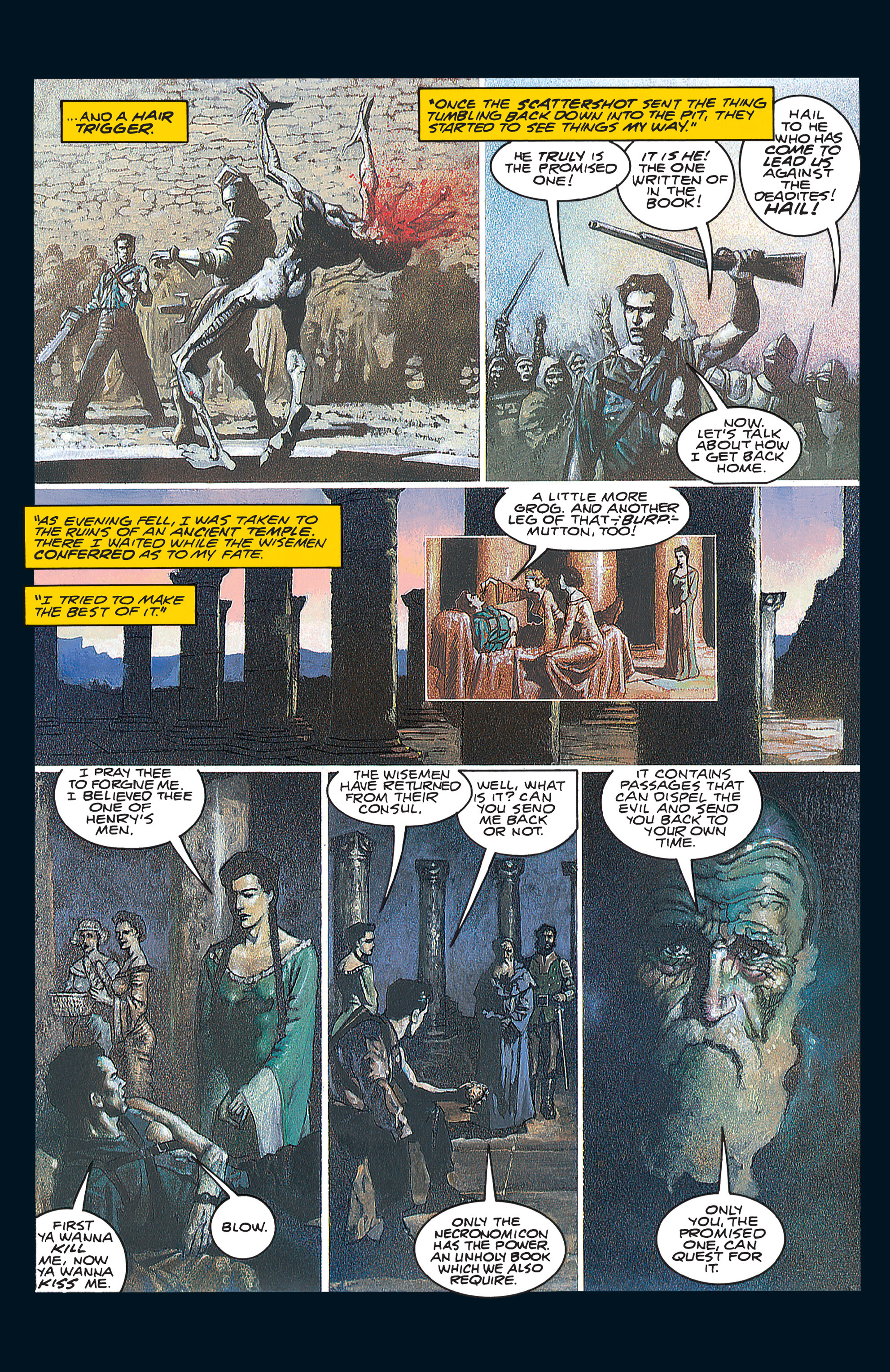 Read online Army of Darkness (1992) comic -  Issue #1 - 18